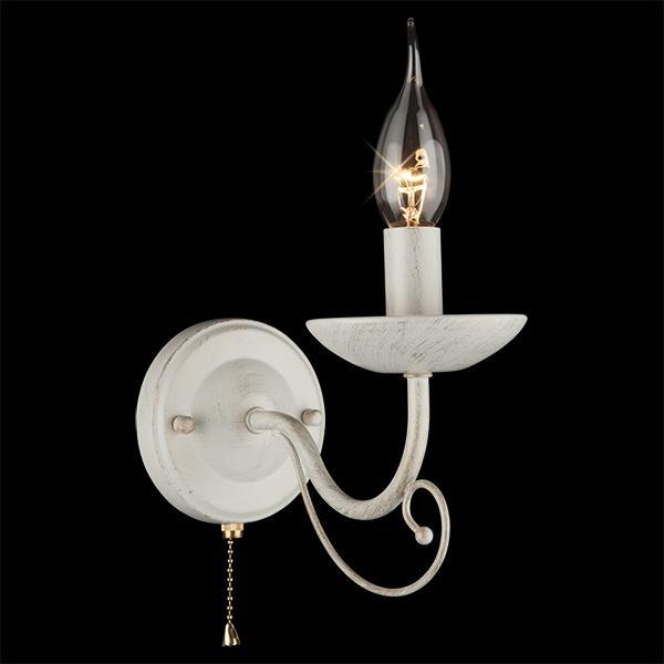 Настенный светильник Eurosvet 22404/1 белый с золотом