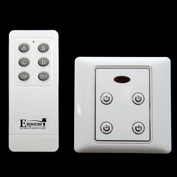 99999 Комплект блоков управления с пультом (10 блоков + 1 пульт) белый 201610SCU-1RC