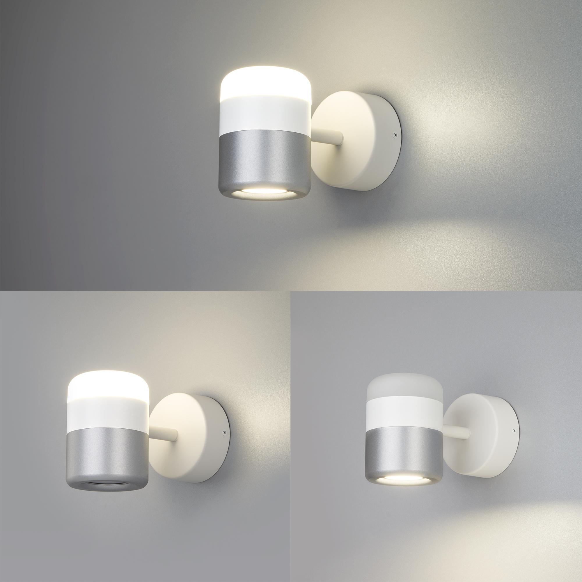 20165/1 LED белый/серебро