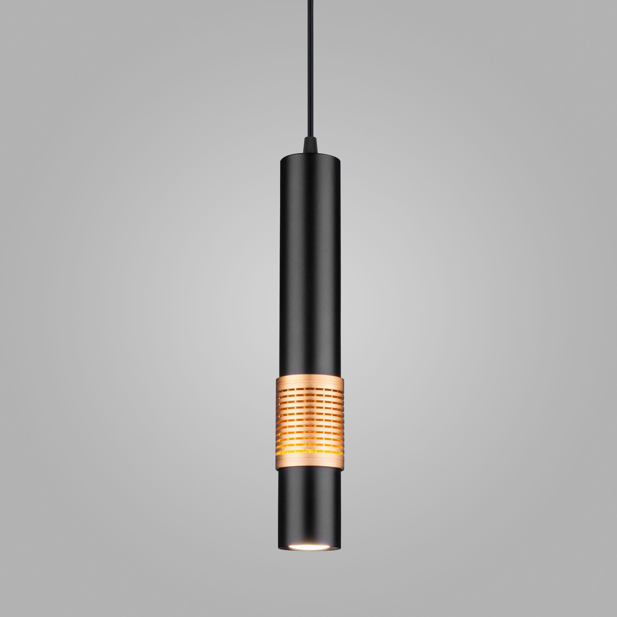 DLN001 MR16 черный матовый/золото