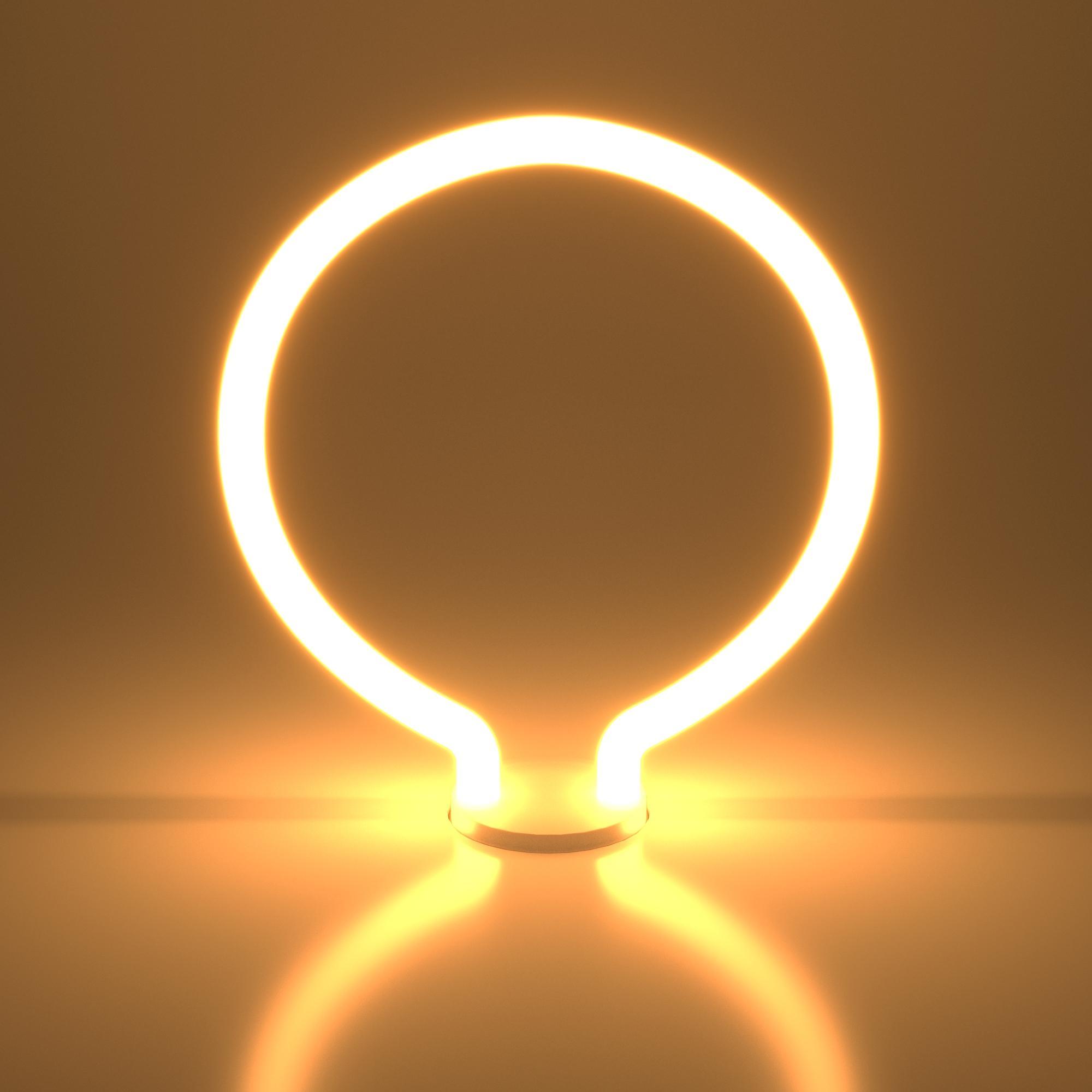 Decor filament 4W 2700K E27 round белый матовый (BL156)