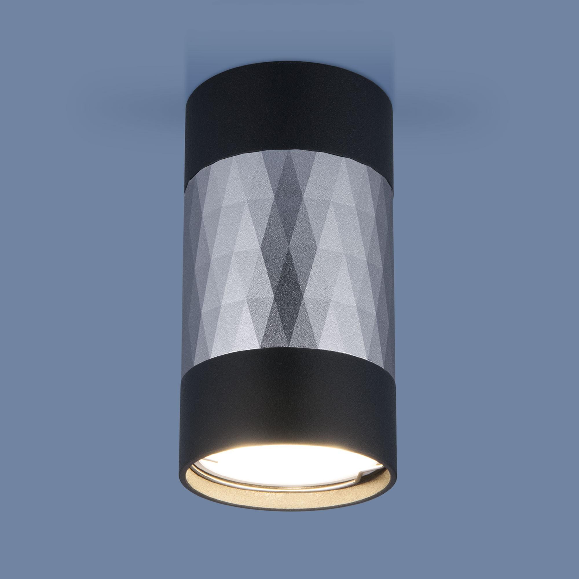 DLN110 GU10 черный/серебро