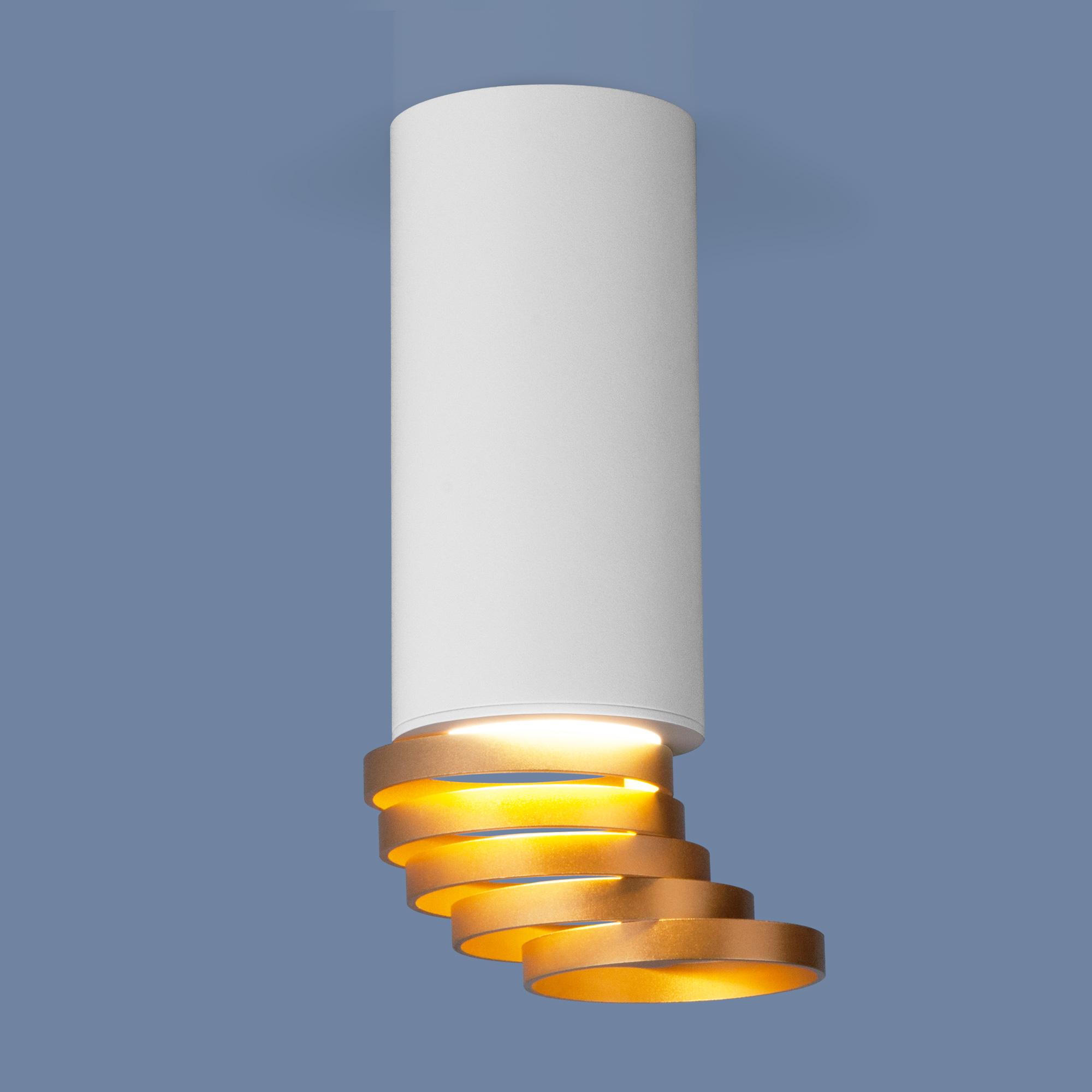 DLN102 GU10 белый/золото