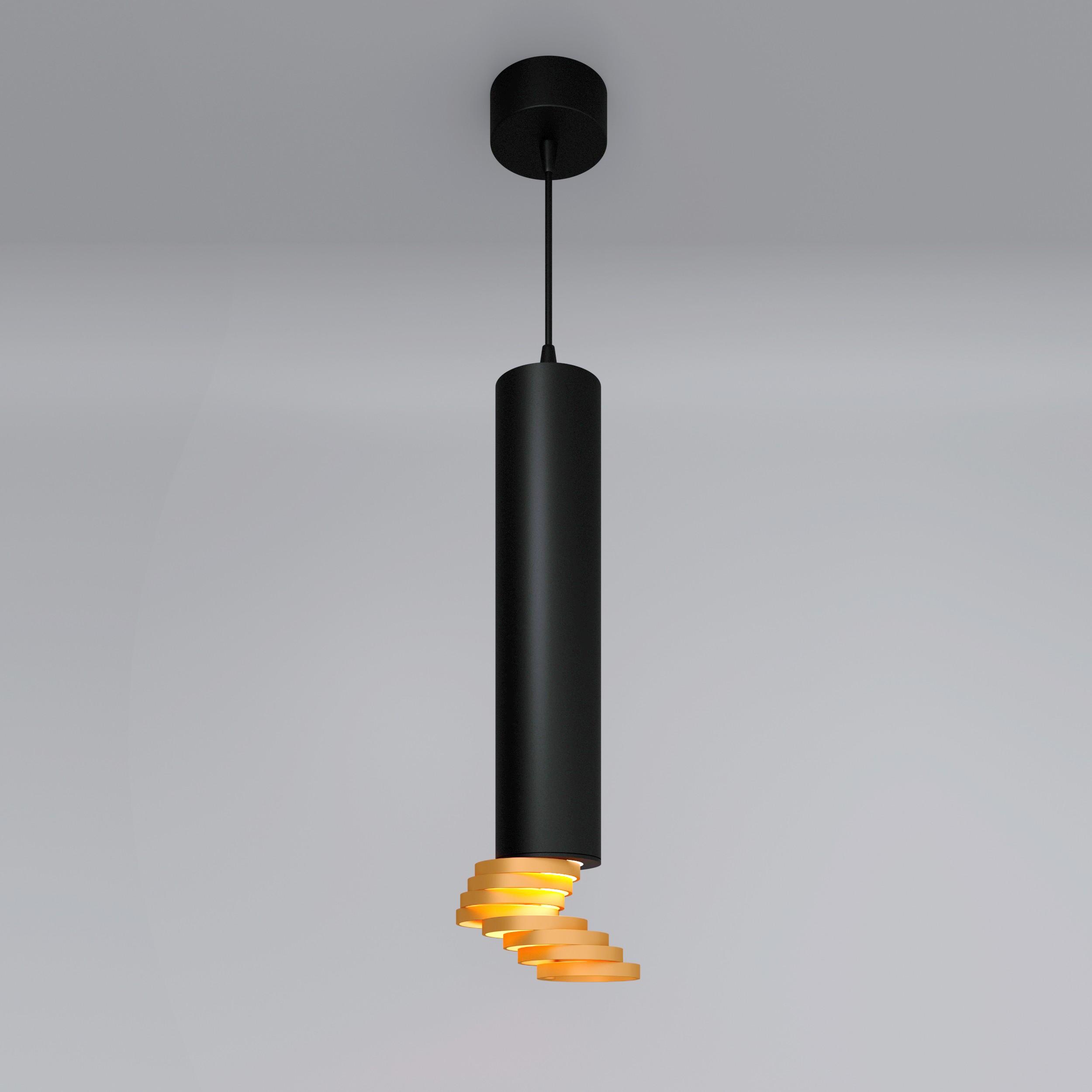 DLN103 GU10 черный/золото