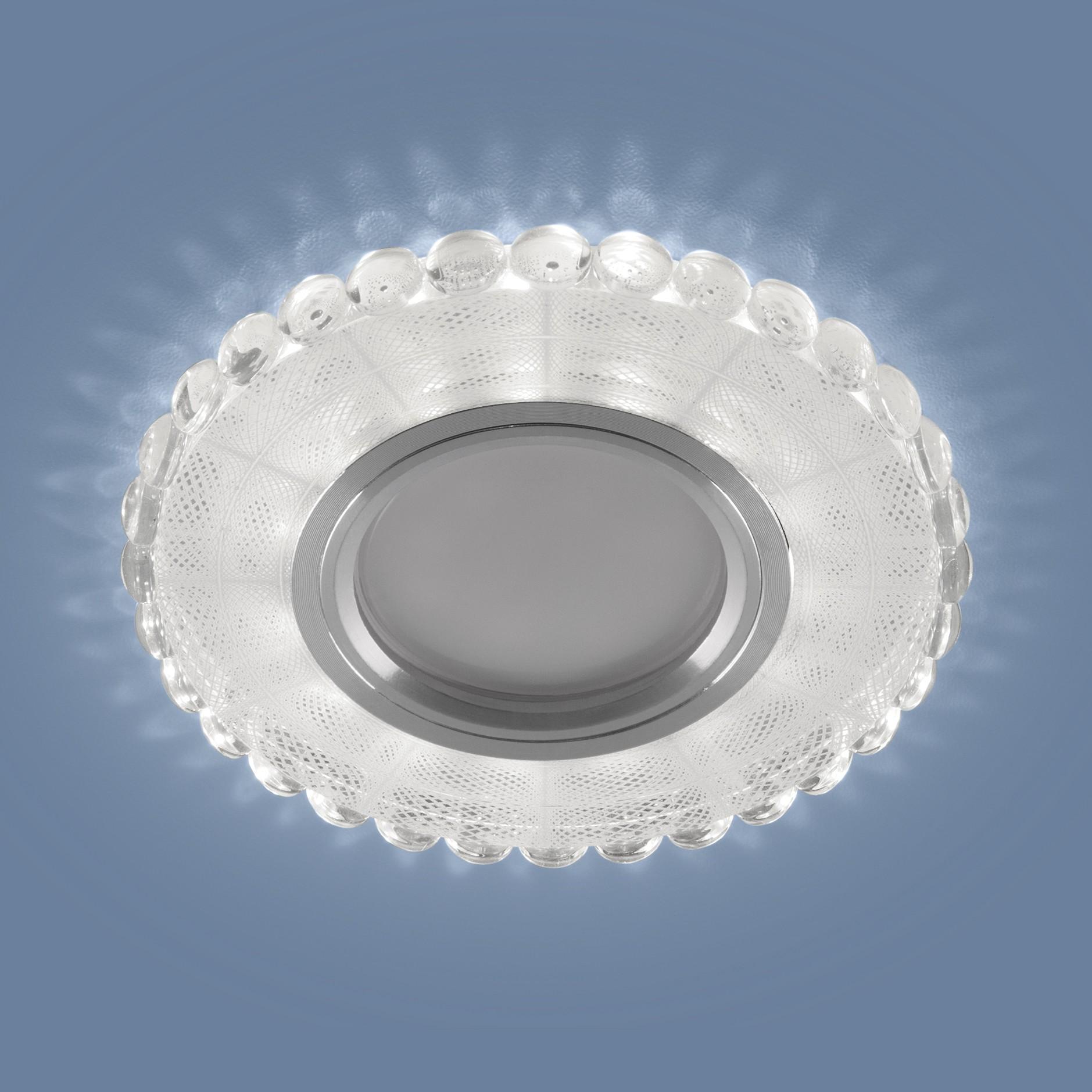2245 MR16 SL/WH зеркальный/белый