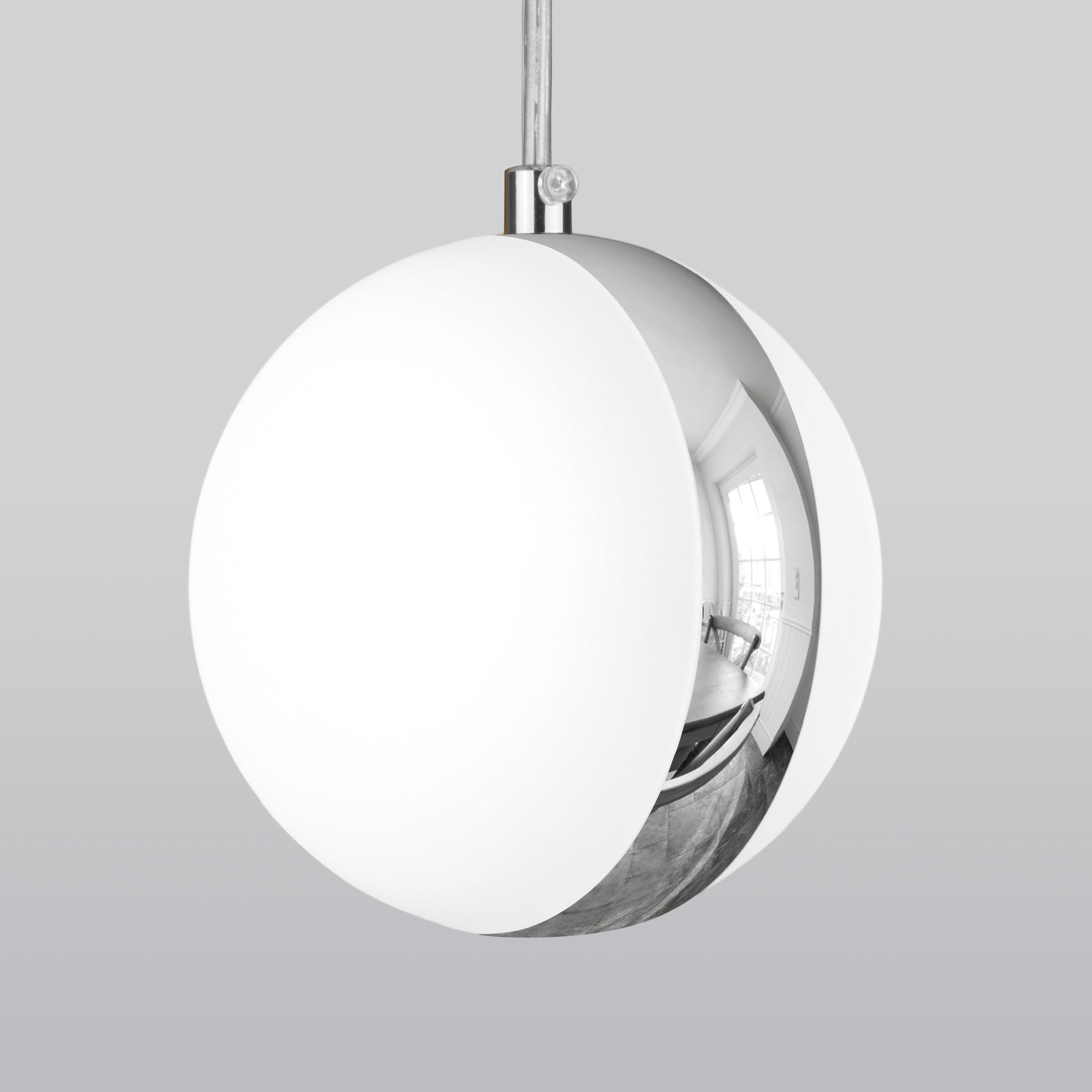 DLN050  GX53 белый/хром