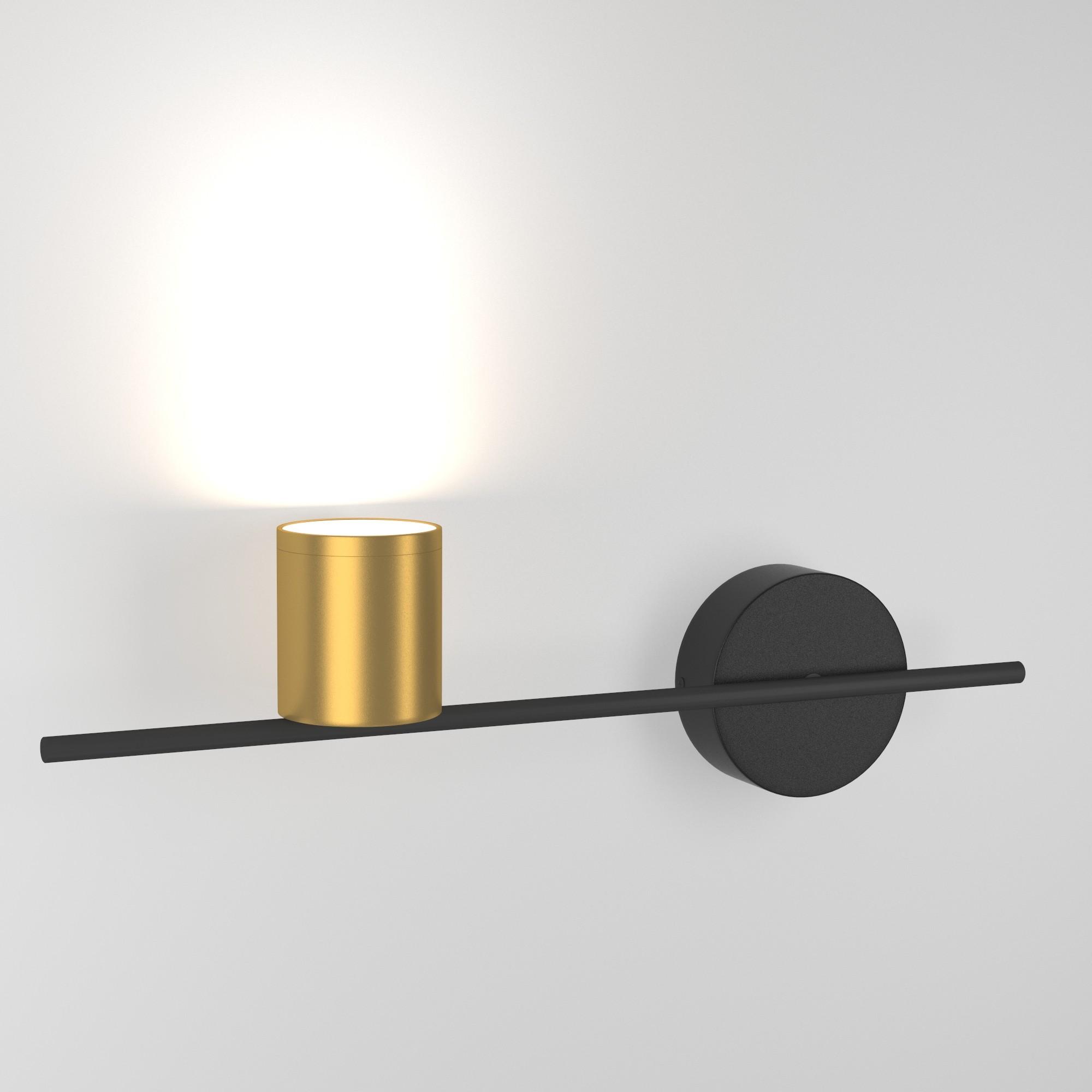Acru LED черный/золото  (MRL LED 1019)