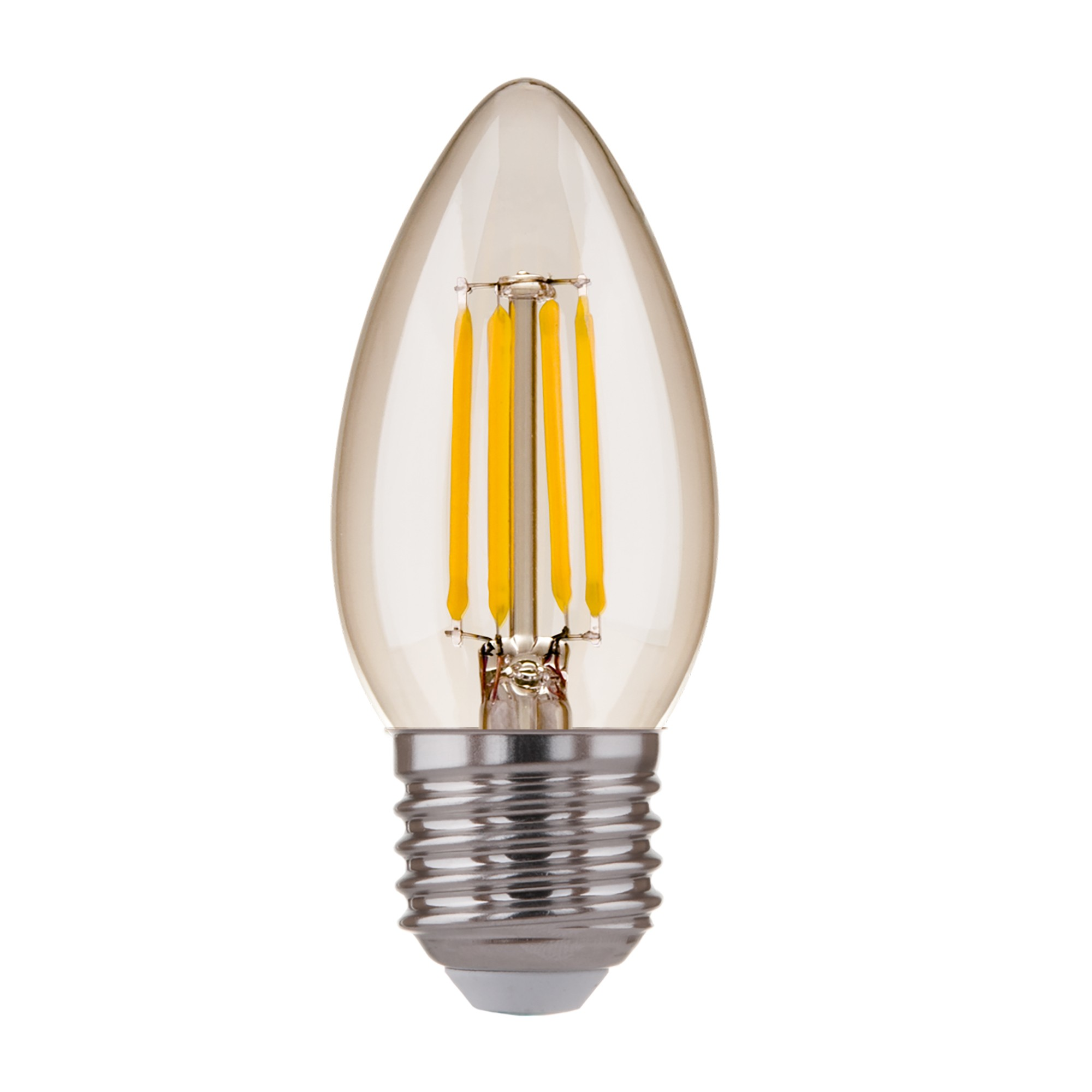Свеча BLE2733 9W 3300K E27 (C35 прозрачный)