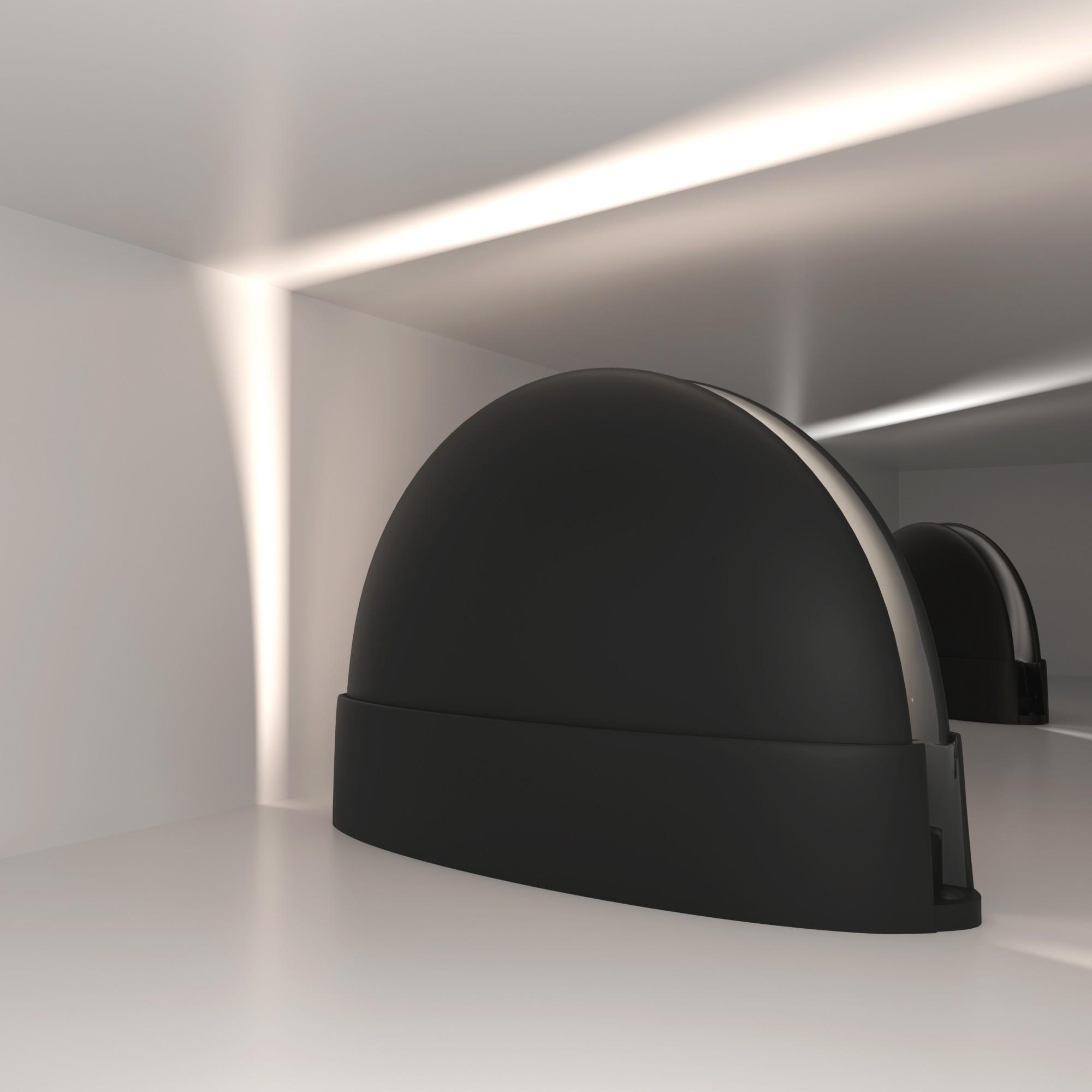 1630 TECHNO LED черный
