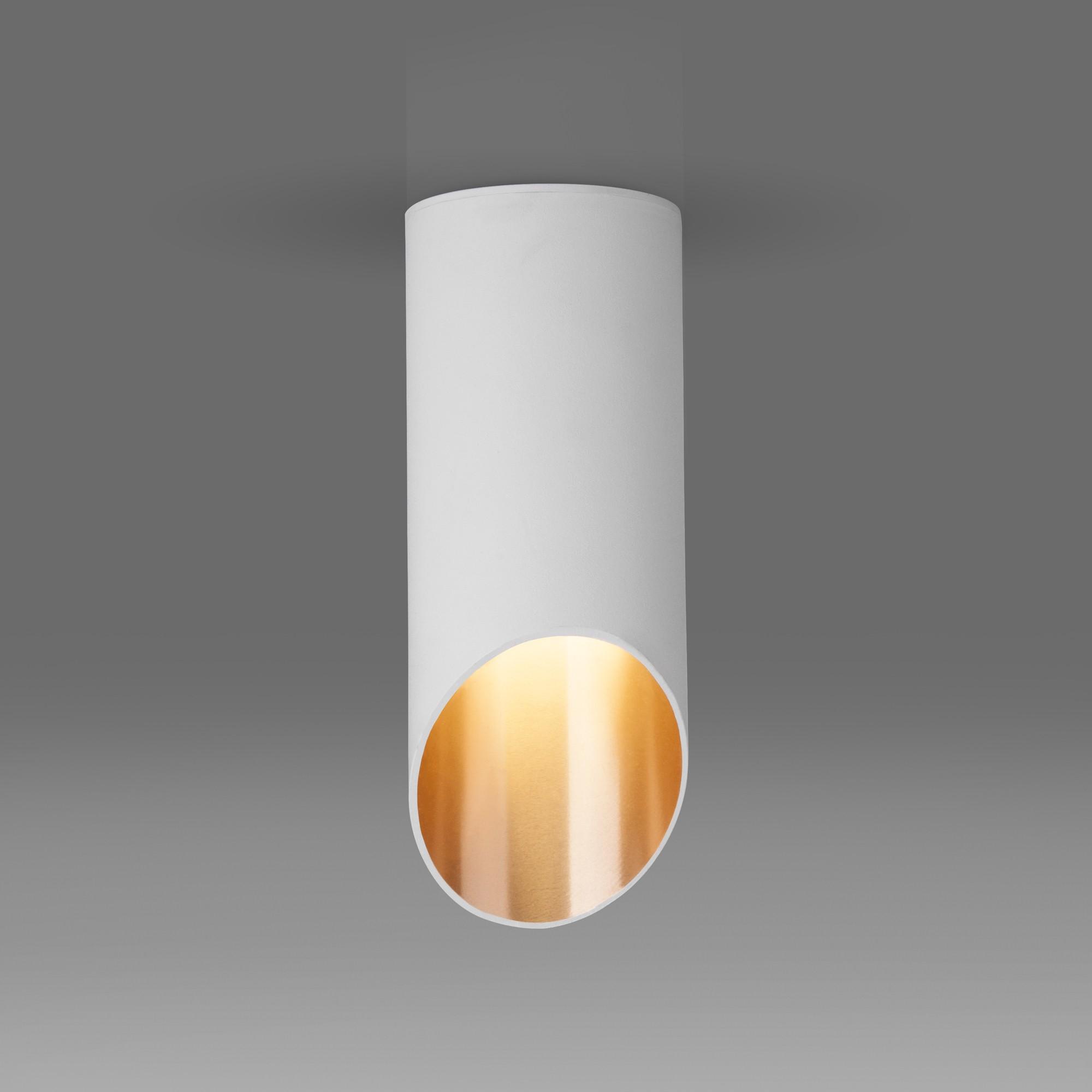 DLN114 GU10 белый/золото