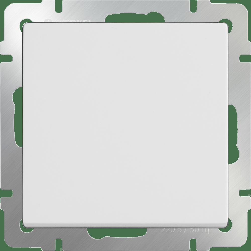 WL01-SW-1G-C / Перекрестный переключатель одноклавишный (белый)