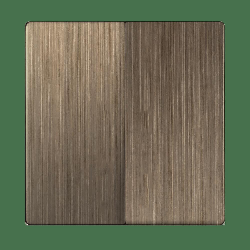 WL12-SW-2G-CP/ Набор клавиш для выключателя двухклавишного (бронзовый)