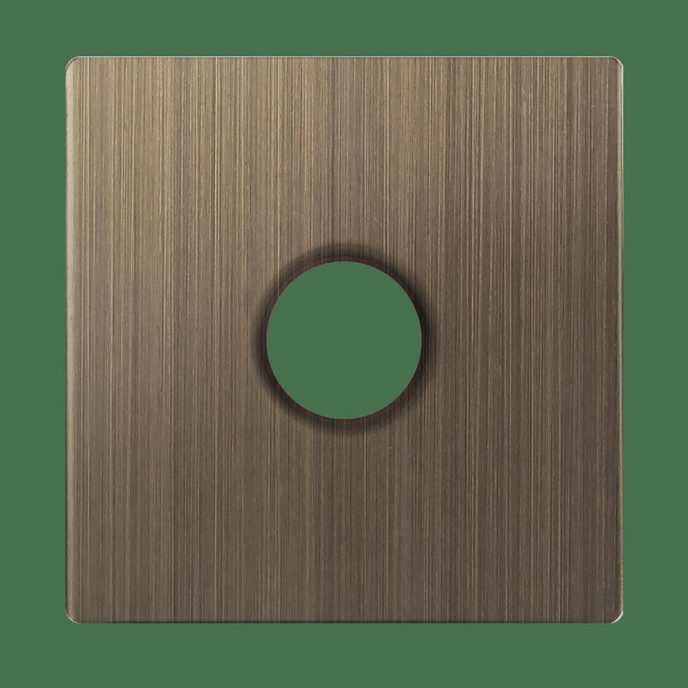 WL12-TV-CP/ Накладка для TV розетки оконечной (бронзовый)