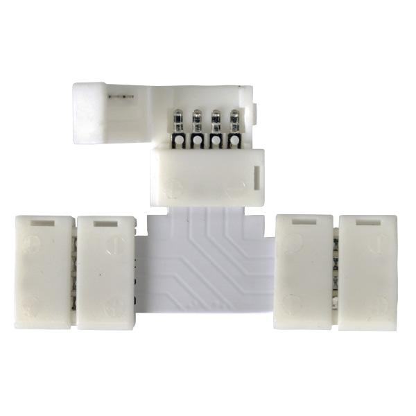 LED 3T коннектор для RGB ленты T (5pkt)