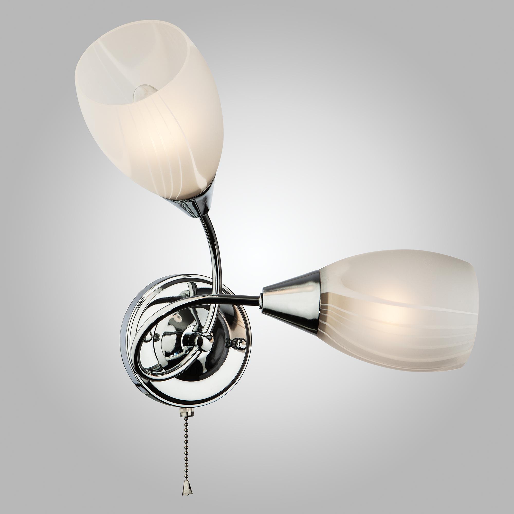 Настенный светильник Eurosvet 2275/2 хром