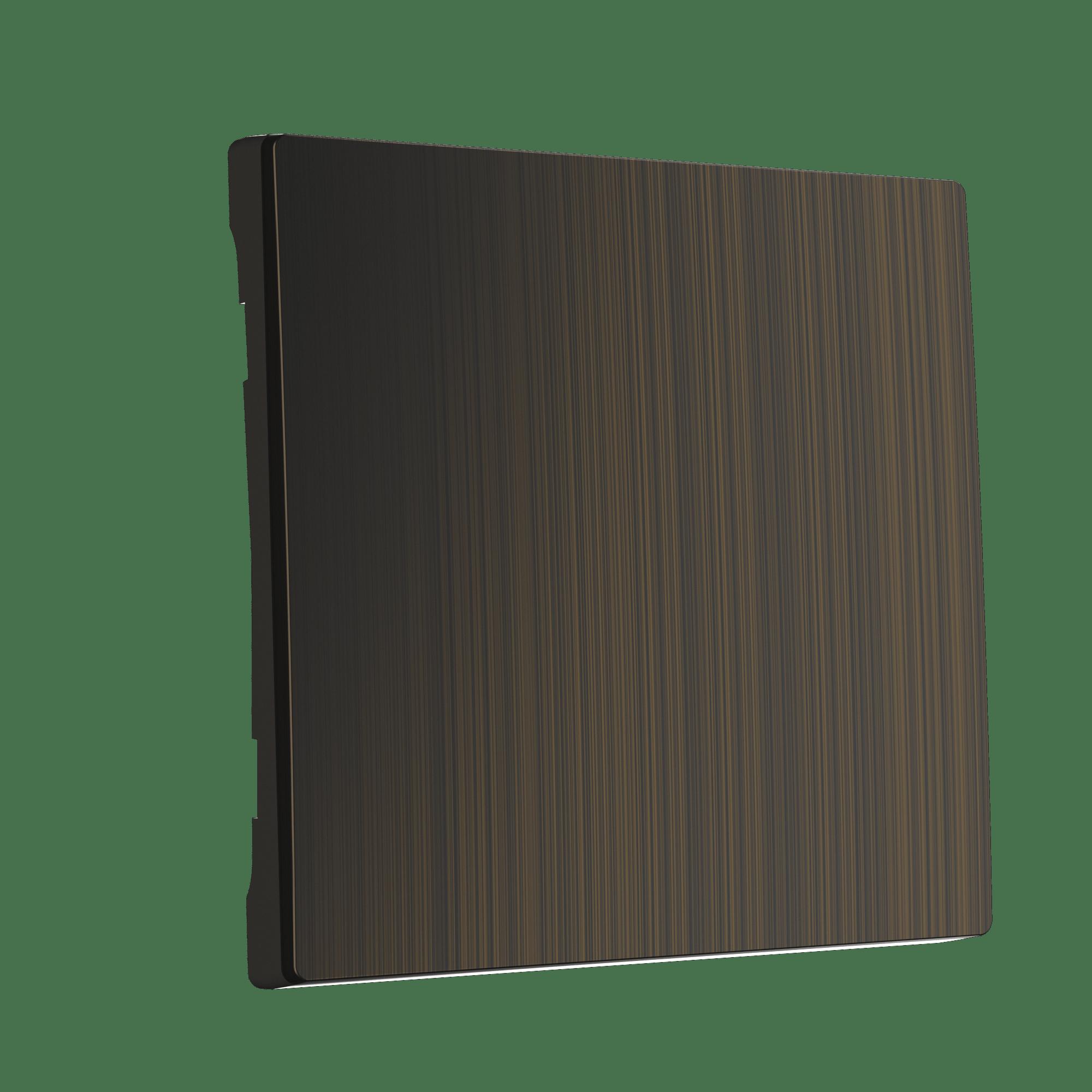 WL12-SW-1G-CP/ Клавиша для выключателя одноклавишного (бронзовый)