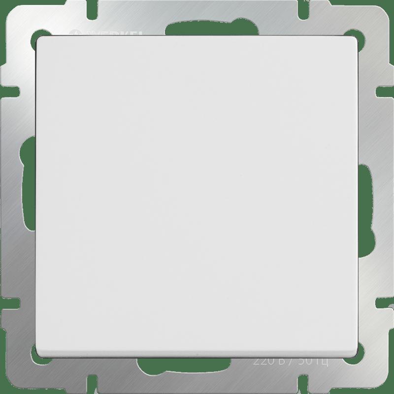 WL01-04-01/ Кнопка звонка (белый)