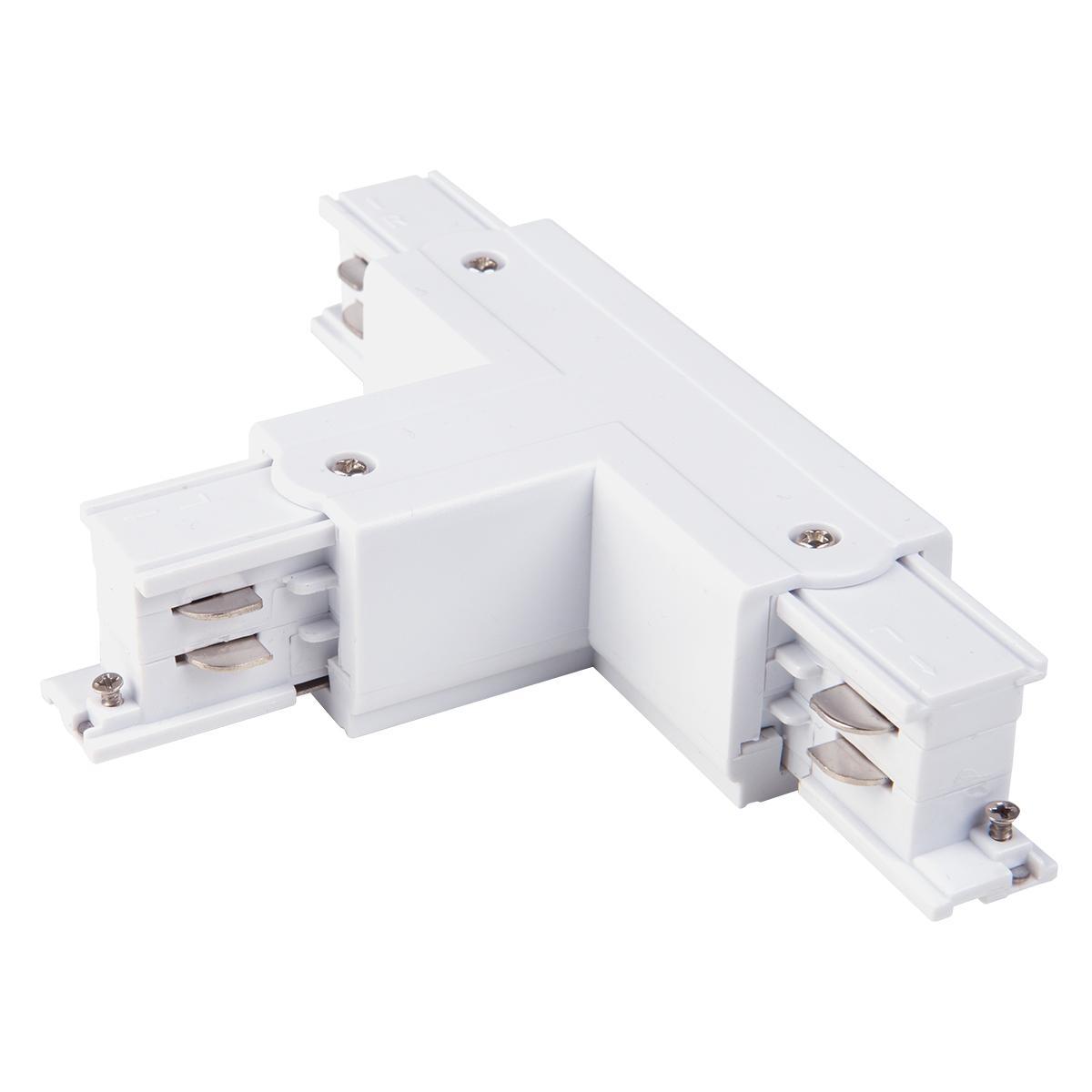 TRC-1-3-TL-WH / Коннектор Т-образный для трехфазного шинопровода левый(белый)