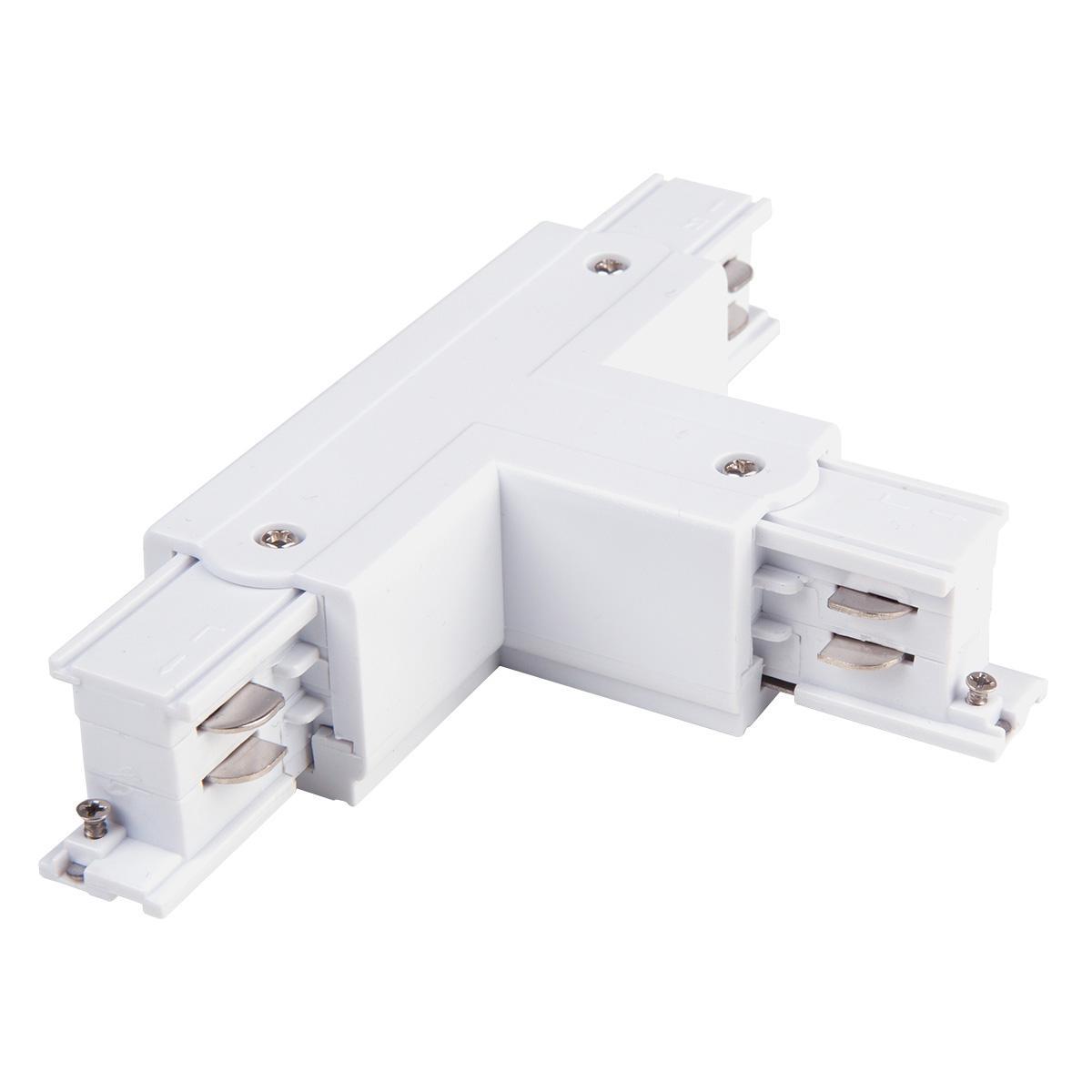 TRC-1-3-TR-WH / Коннектор Т-образный для трехфазного шинопровода правый (белый)