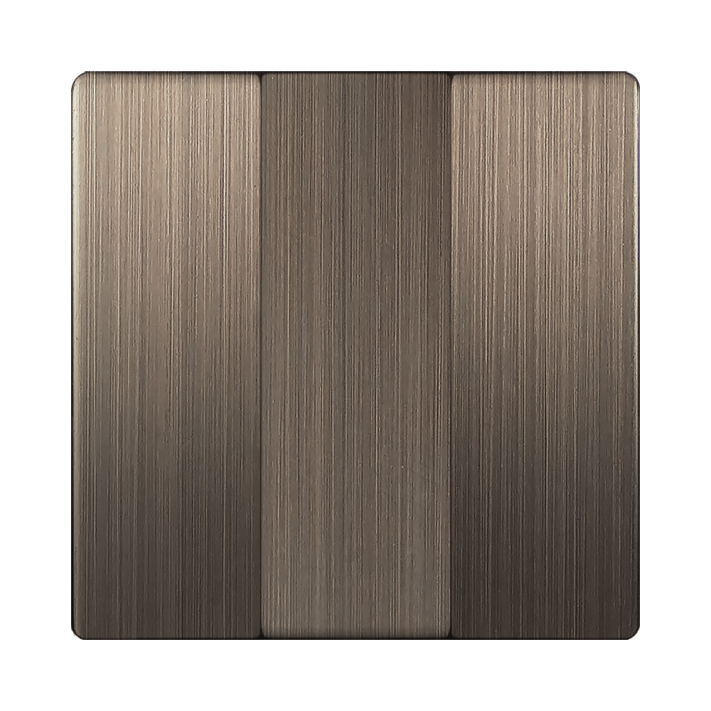 WL12-SW-3G-CP/ Набор клавиш для выключателя трехклавишного (бронзовый)