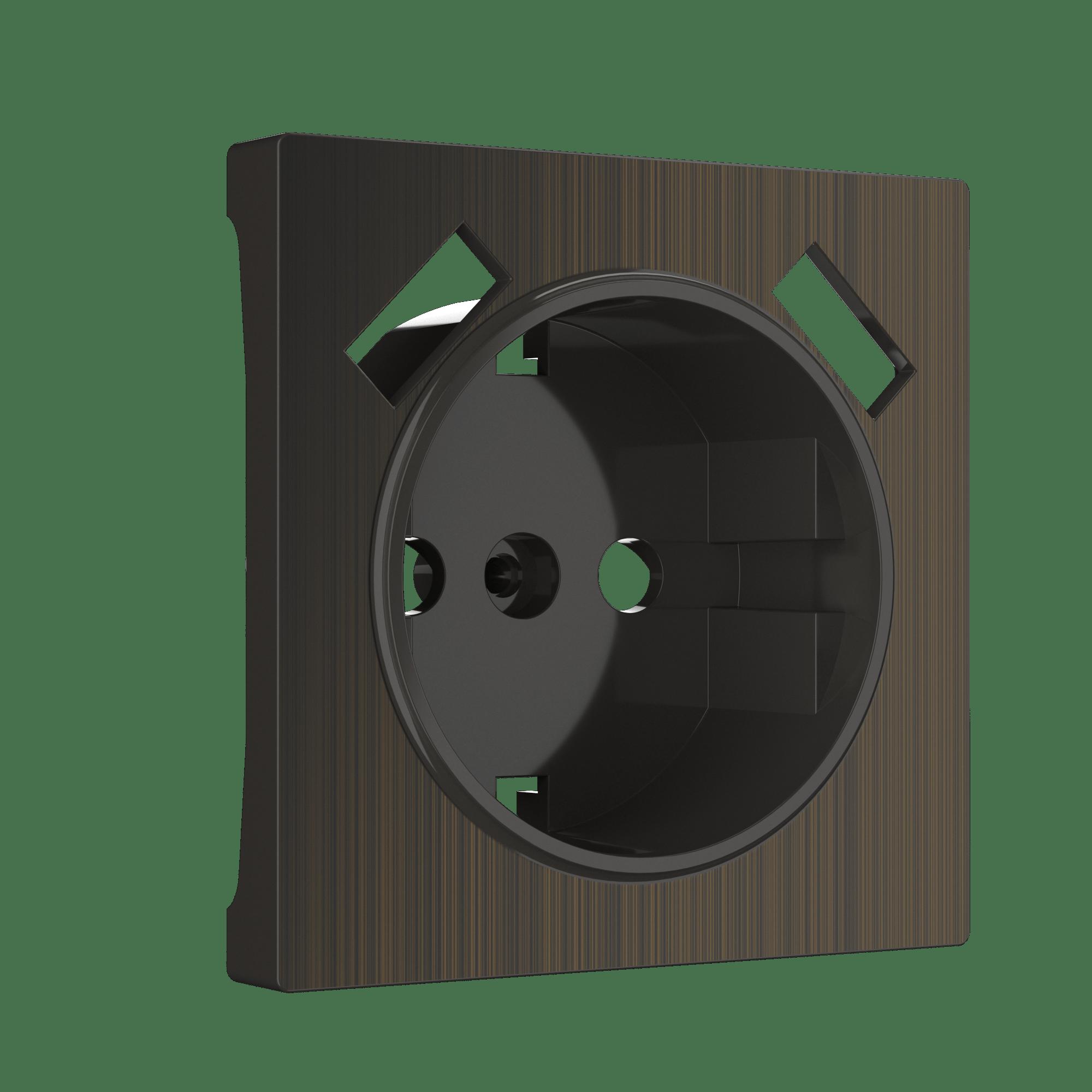Накладка для USB розетки (бронзовый) в Коврове