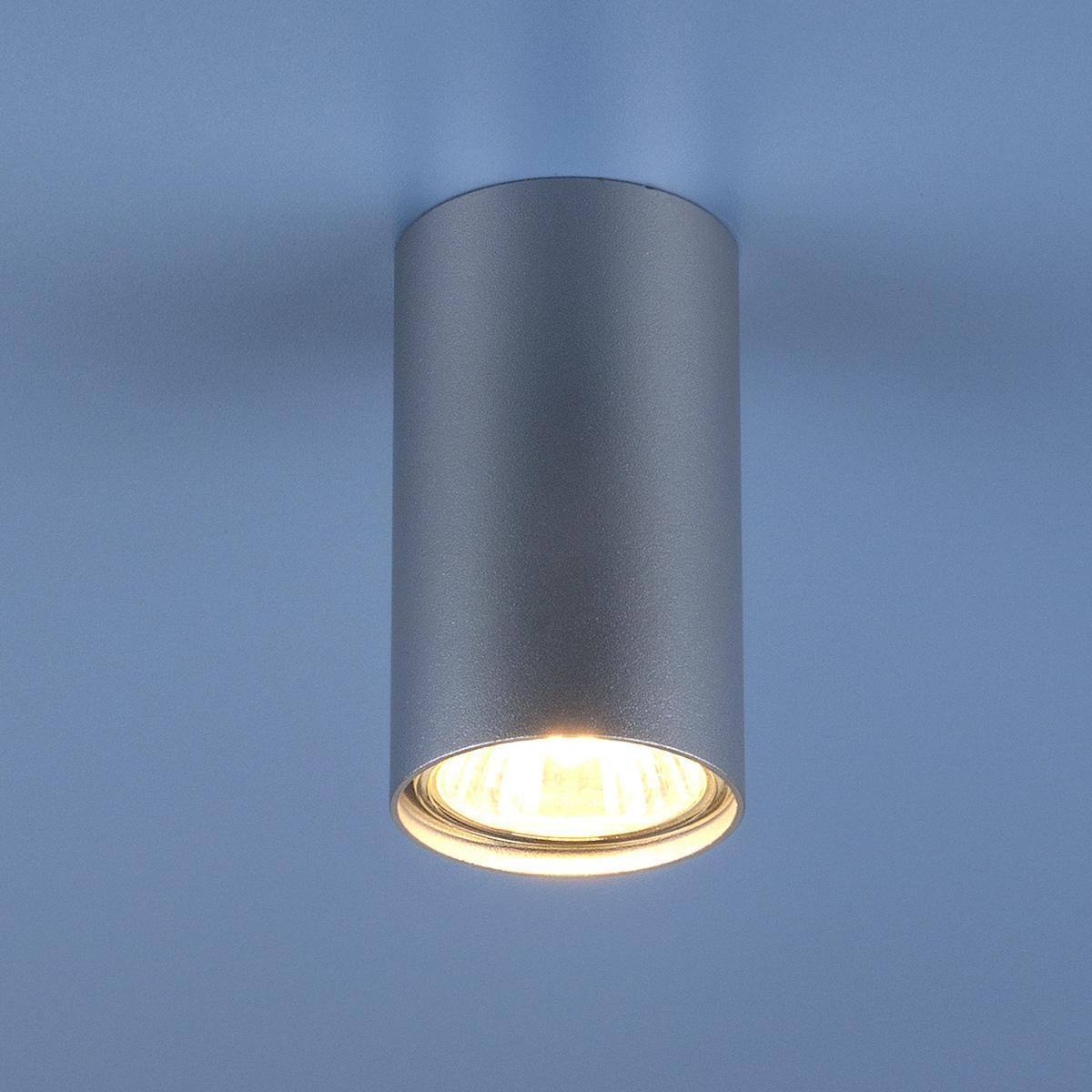 1081 GU10 SL серебро (5257)