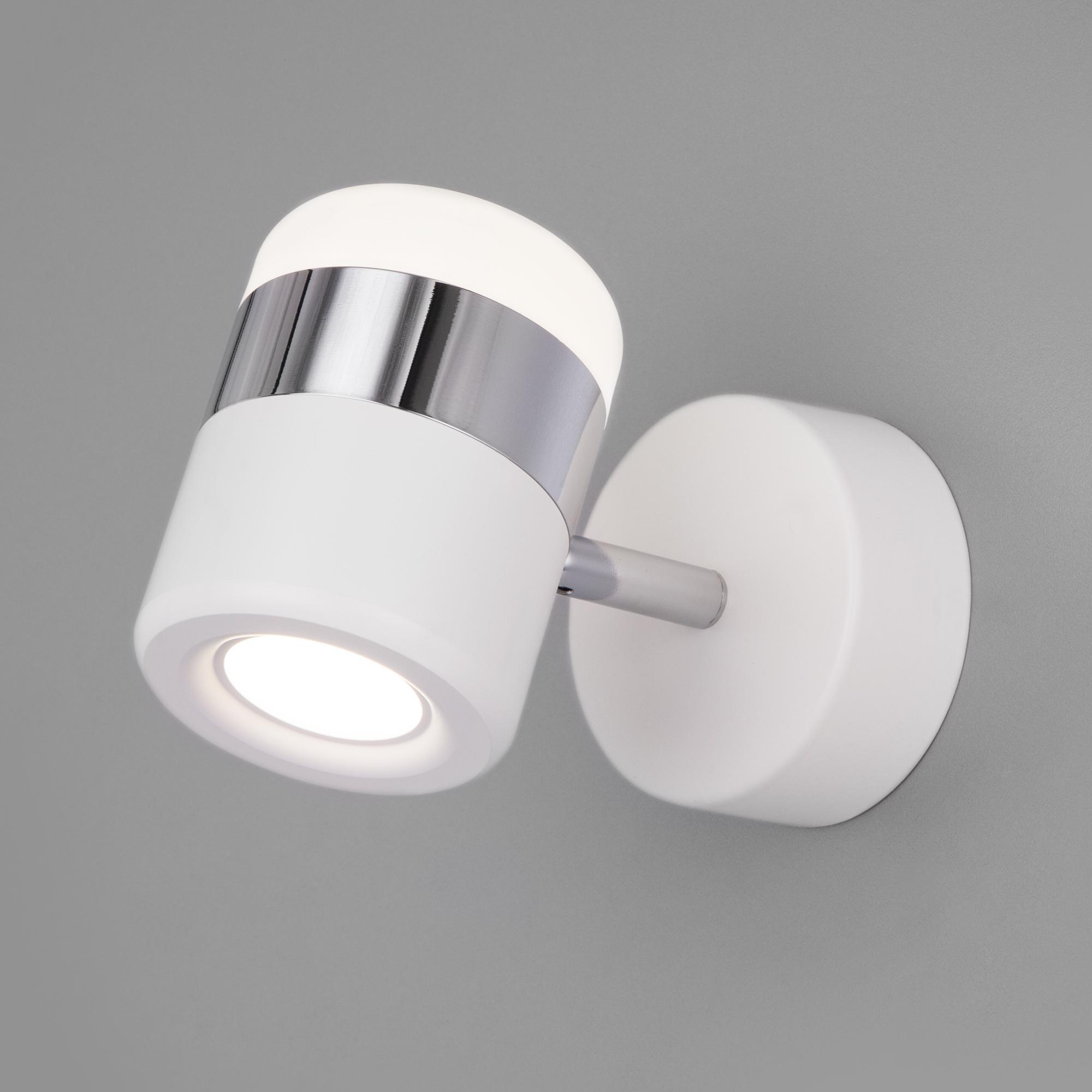 20165/1 LED хром/белый