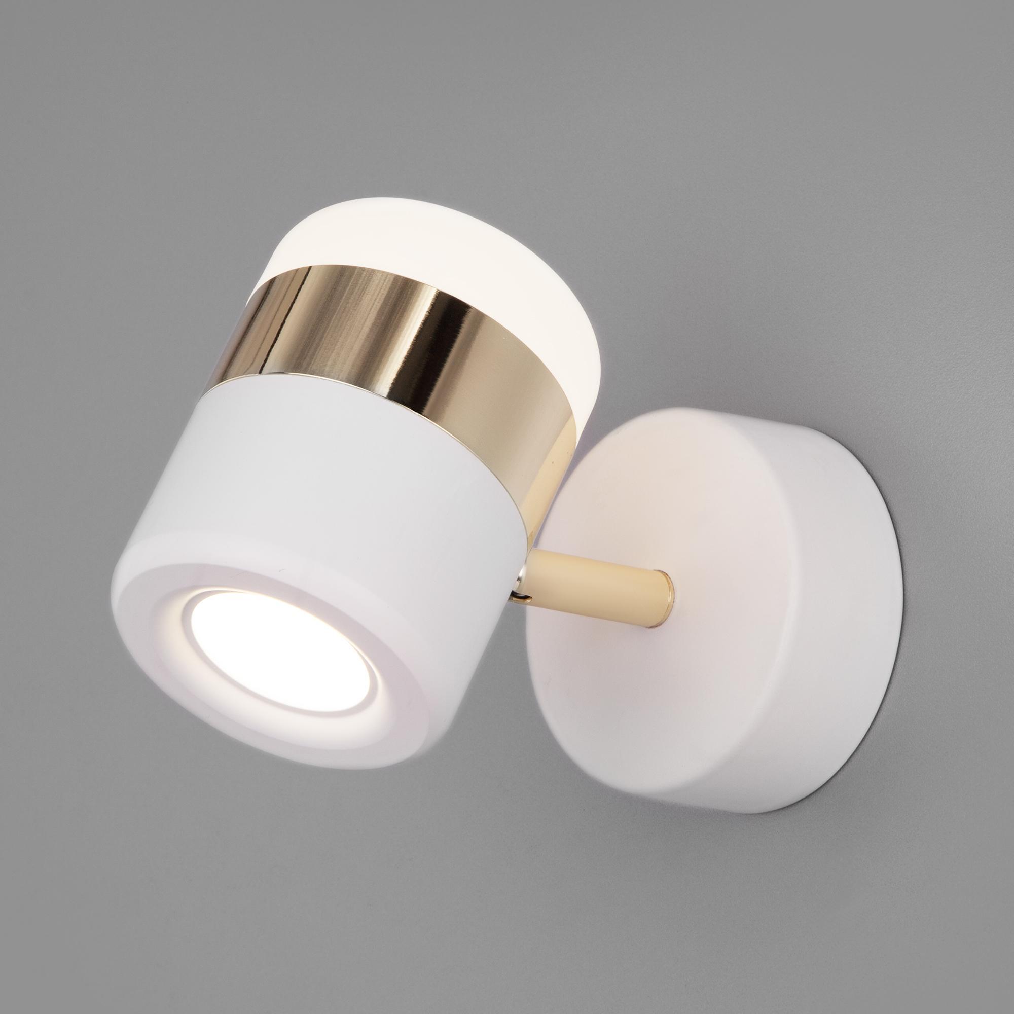 20165/1 LED золото/белый