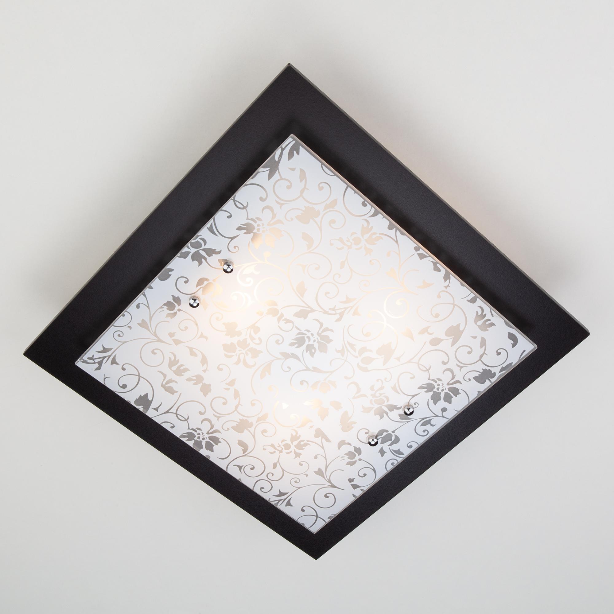 Потолочный/настенный светильник Eurosvet 2761/3 венге
