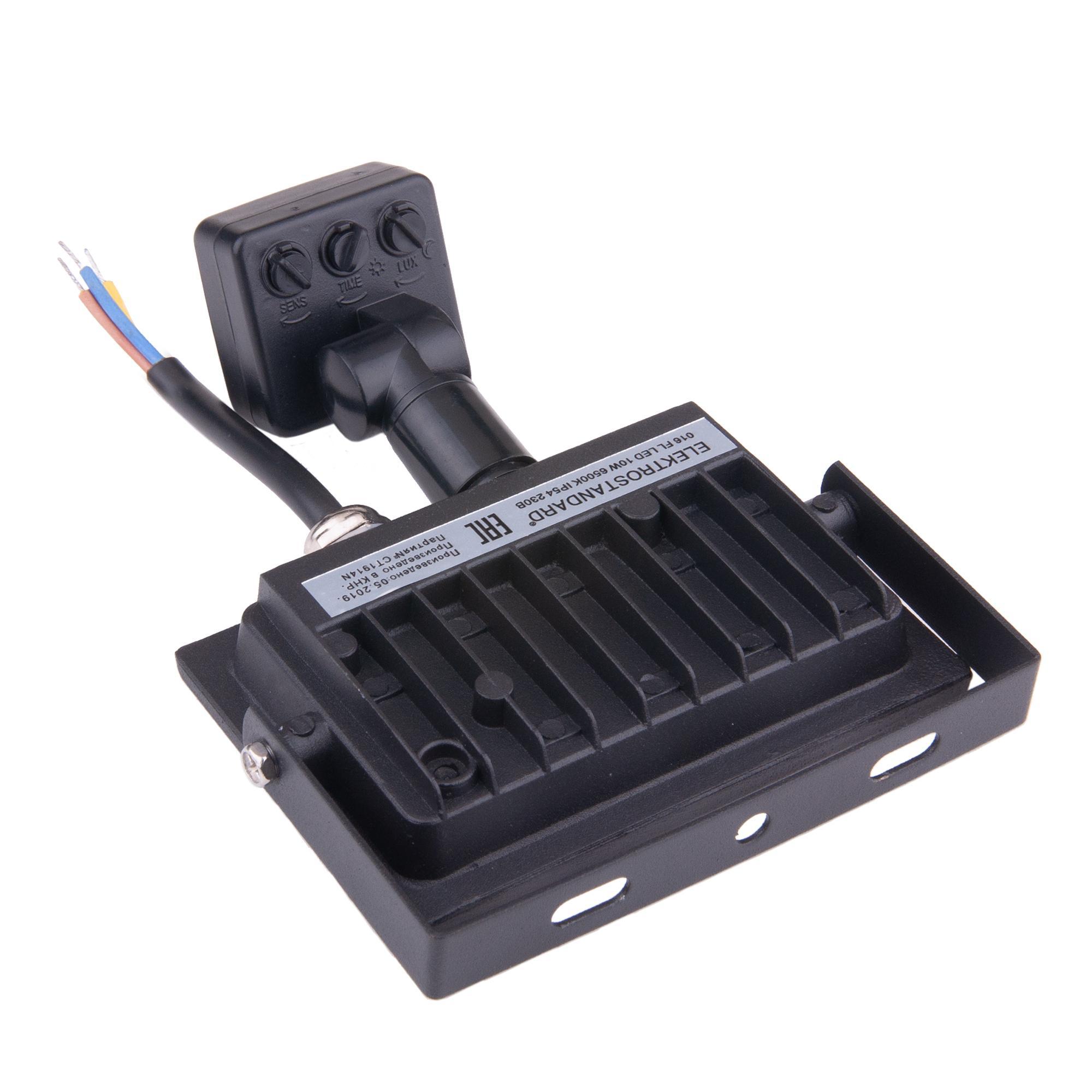 Прожектор (с датчиком) 016 FL LED 10W 6500K IP54