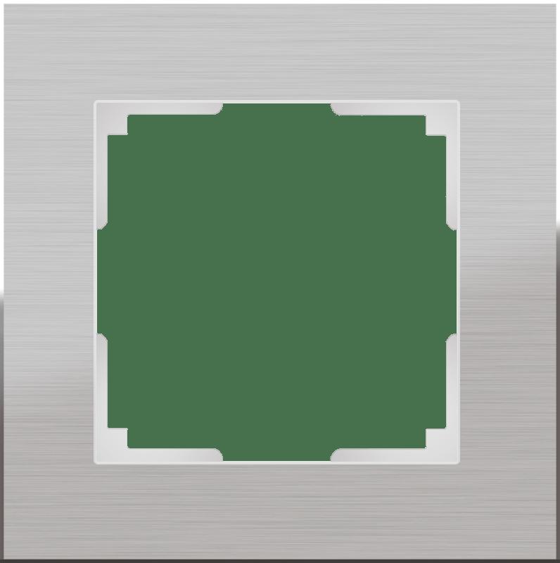 WL11-Frame-01 / Рамка на 1 пост (алюминий)