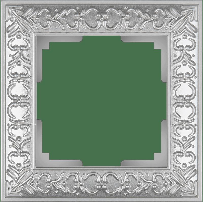 WL07-Frame-01/Рамка на 1 пост (жемчужный)