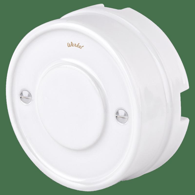 WL18-19-01/ Распределительная коробка (белый) Ретро