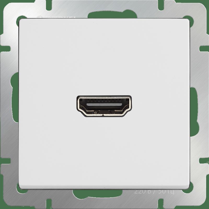 WL01-60-11/ Розетка HDMI (белый)