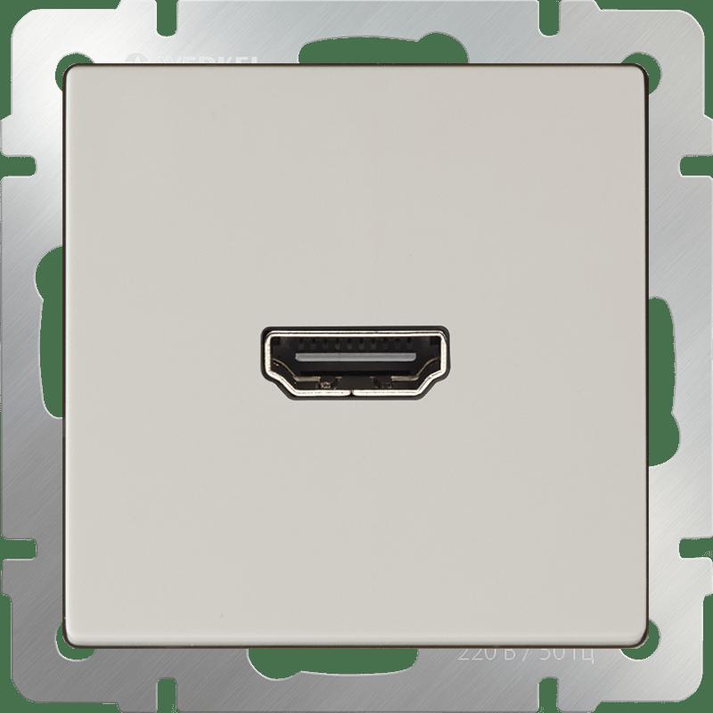 WL03-60-11/ Розетка HDMI (слоновая кость)