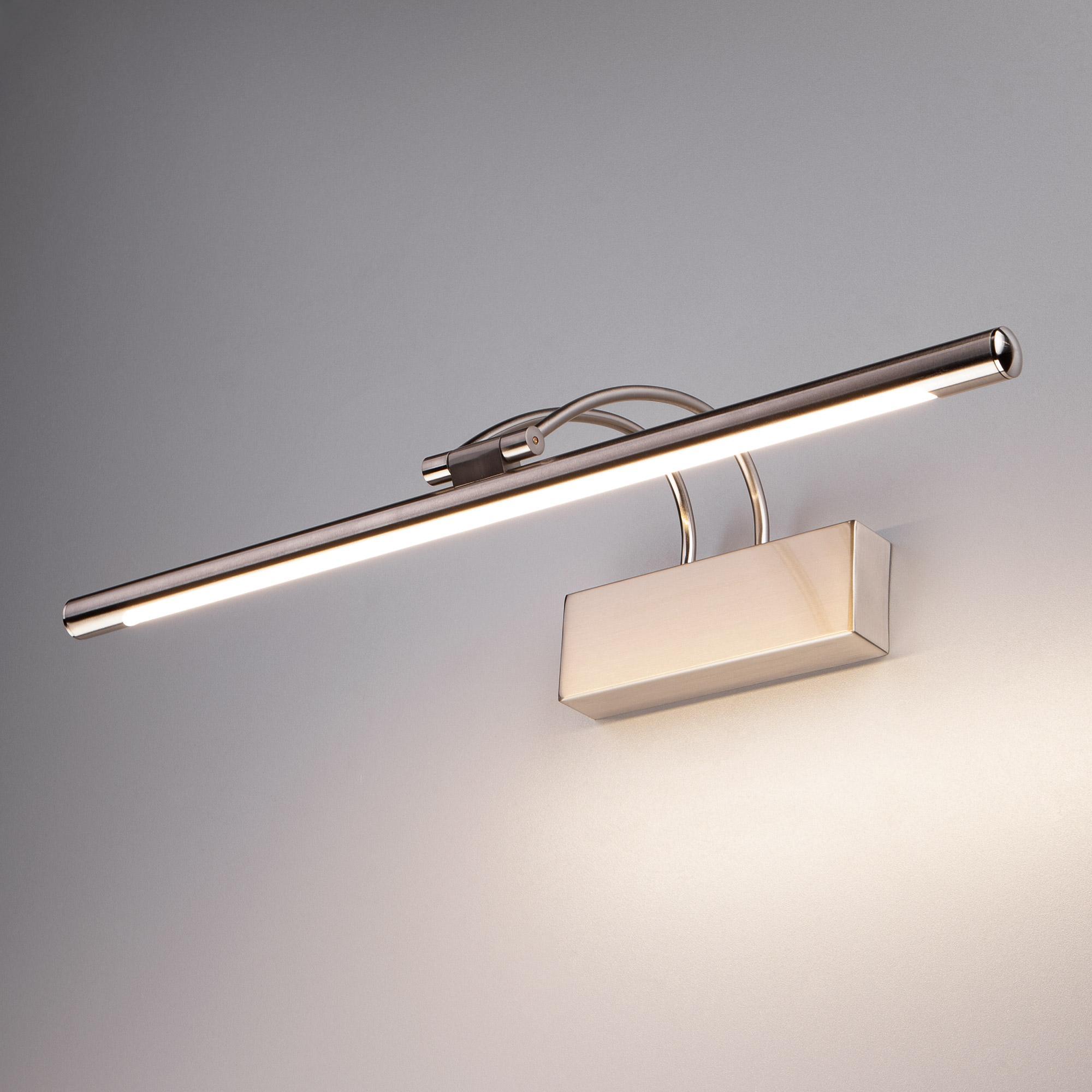 Simple LED никель (MRL LED 10W 1011 IP20)
