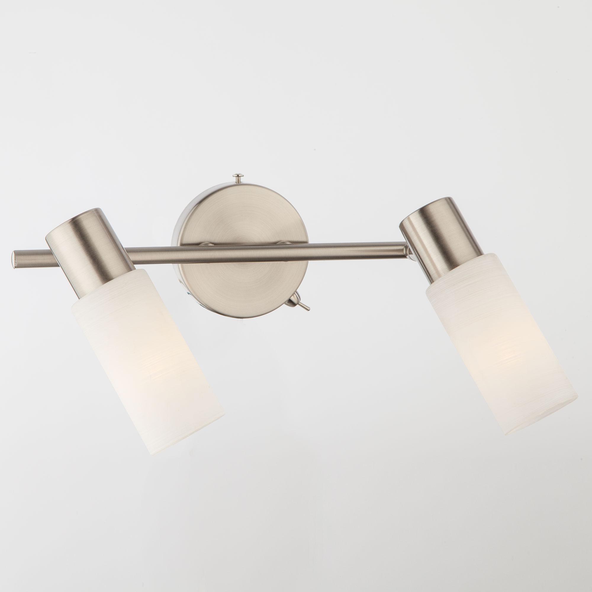 Настенный светильник Eurosvet 20043/2 сатин-никель