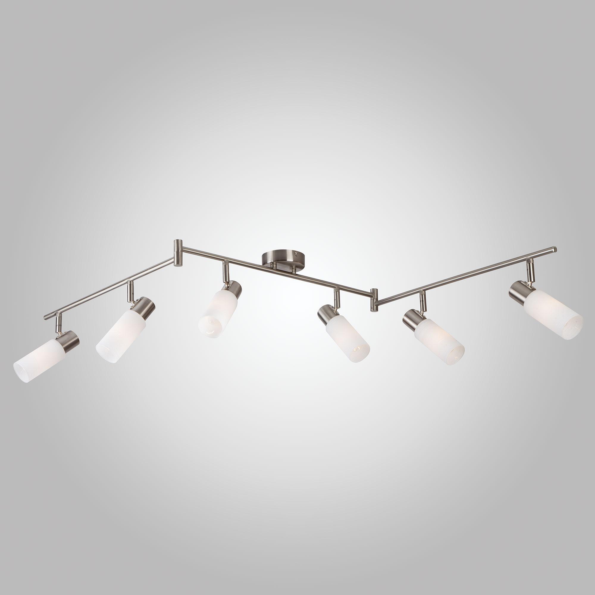 Потолочный светильник Eurosvet 20043/6 сатин-никель