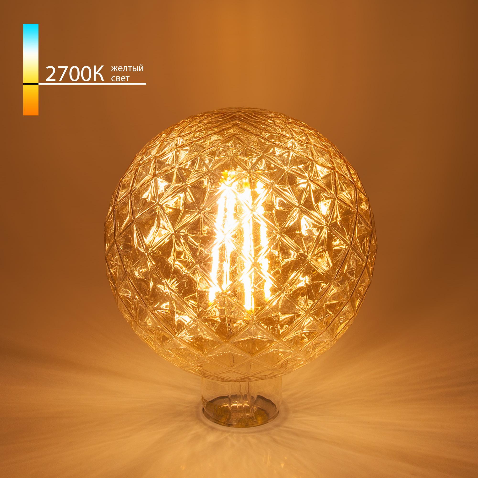 Globe BL155 8W 2700K E27 Prisma (G125 тонированная)