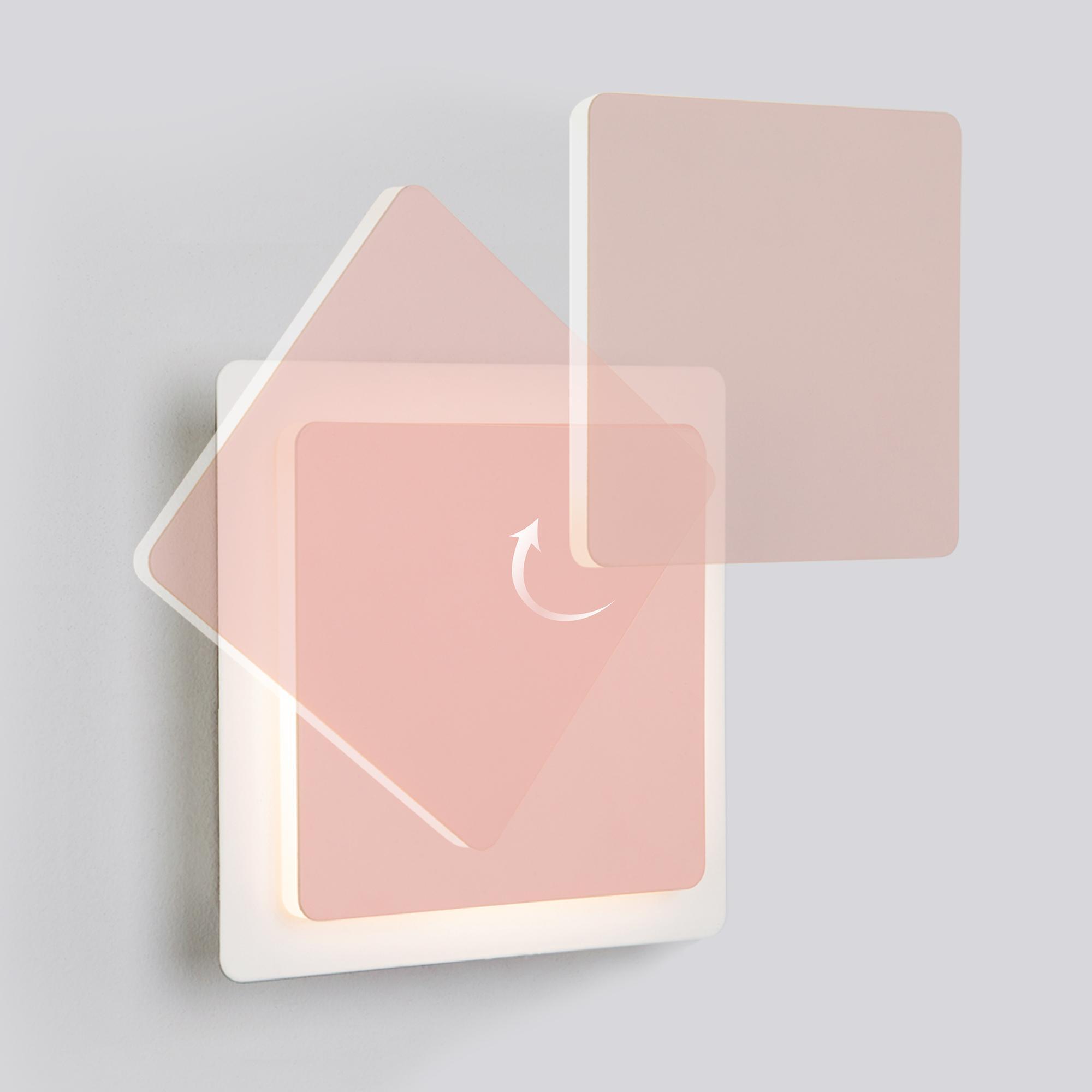 40136/1 белый/розовый