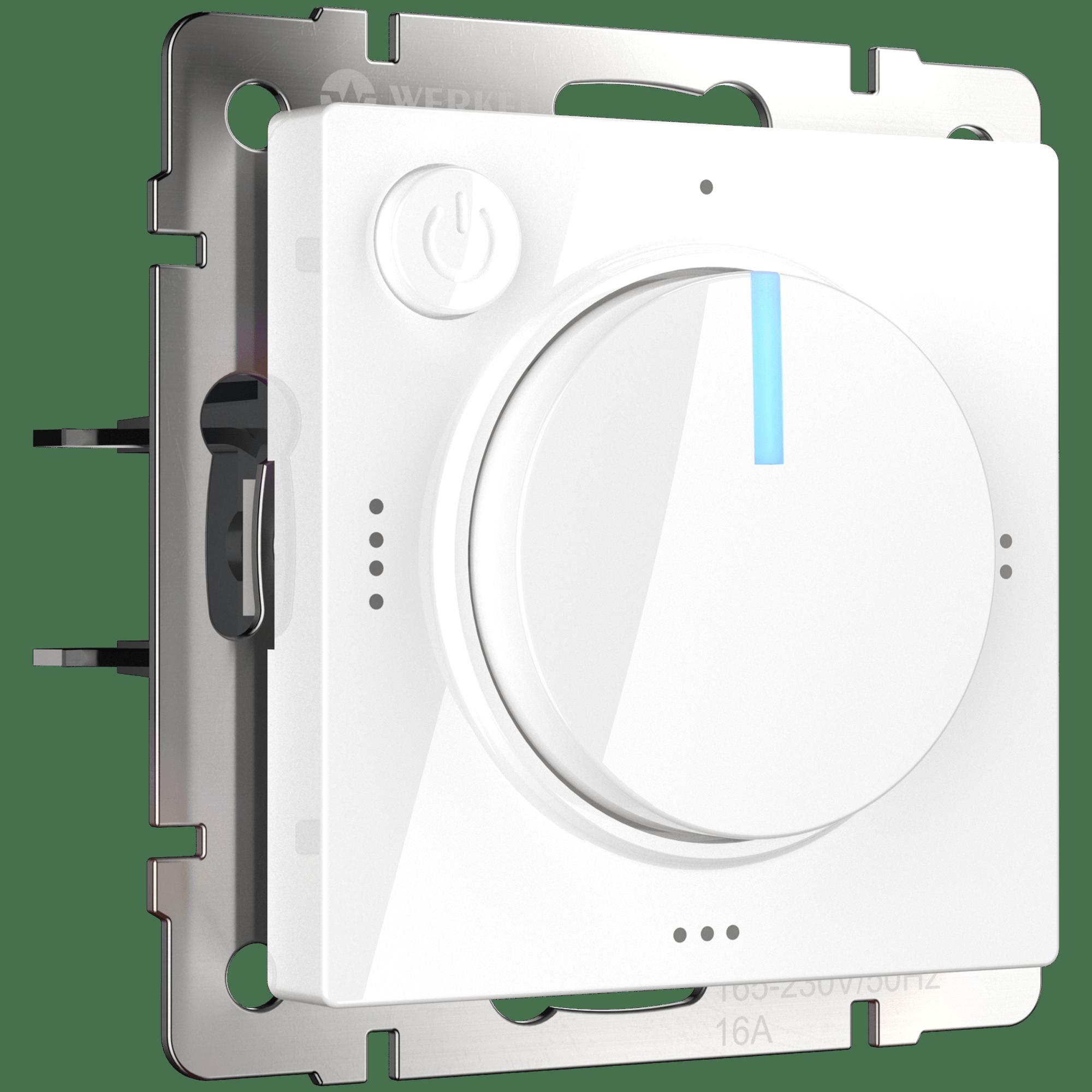 WL01-40-01/ Терморегулятор электромеханический для теплого пола (белый)