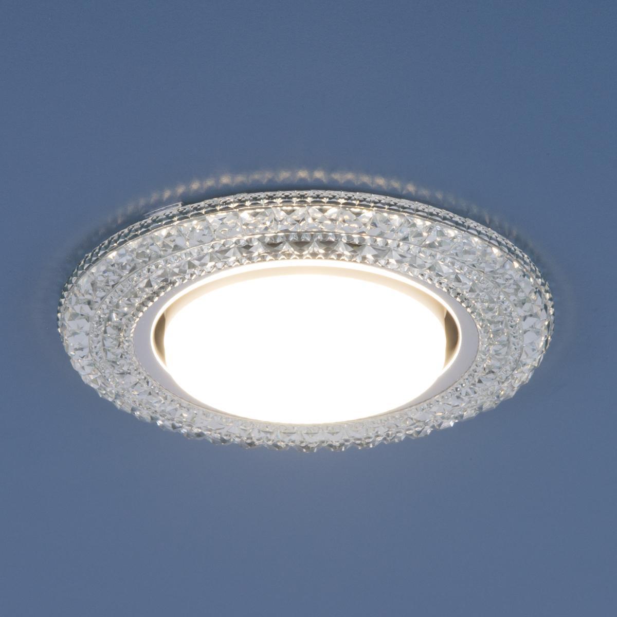 Точечный светильник Elektrostandard 3030 GX53 CL прозрачный