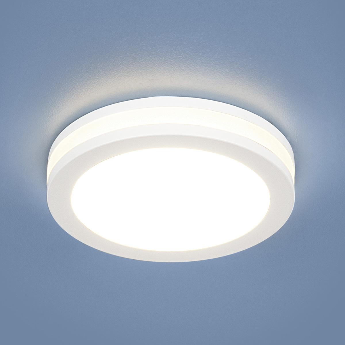 Точечный светильник Elektrostandard DSKR80 5W 4200K WH белый