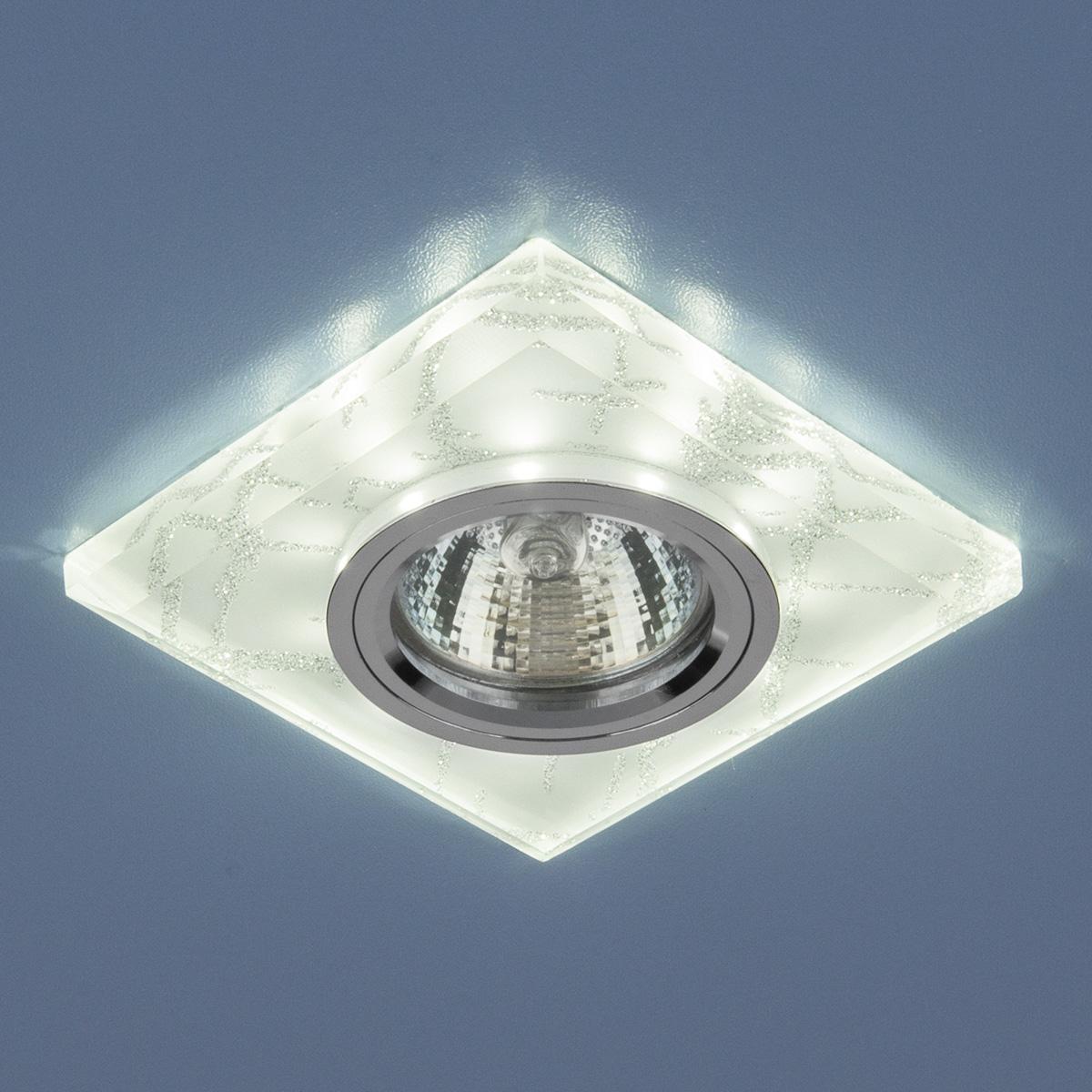 Точечный светильник Elektrostandard 8361 MR16 WH/SL белый/серебро
