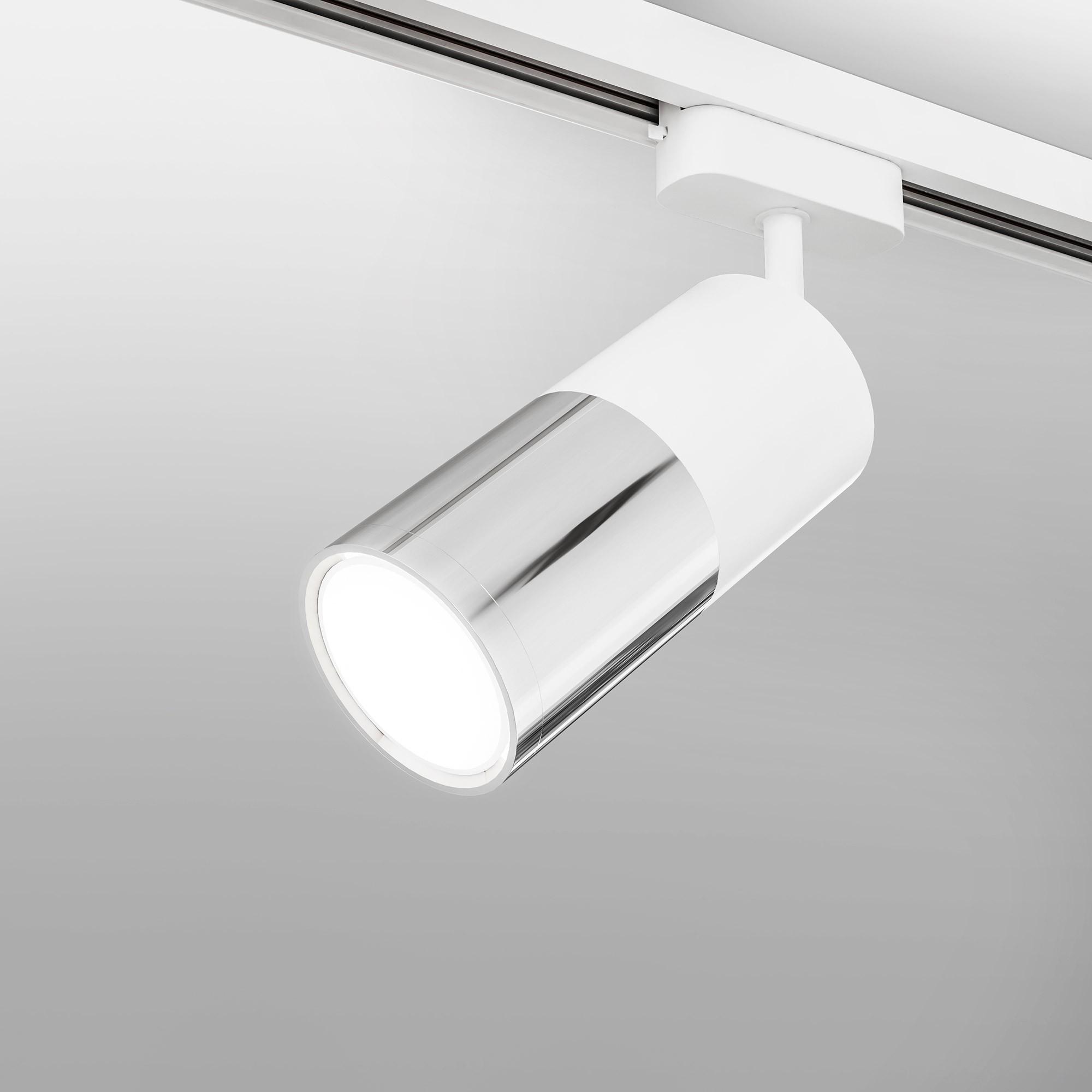 Avantag Белый матовый/хром 6W 4200K (LTB27) однофазный