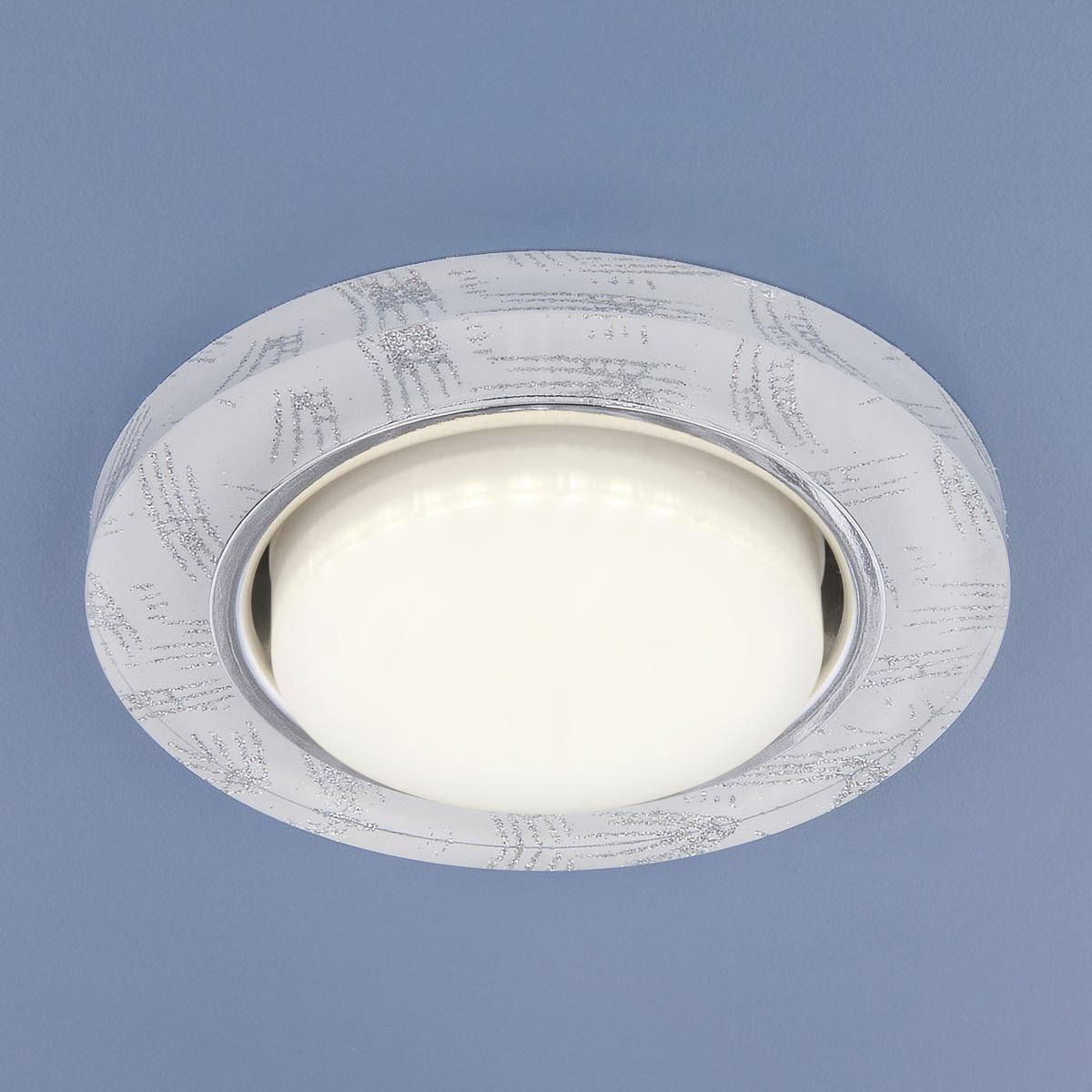 1062 GX53 WH/SL белый/серебро