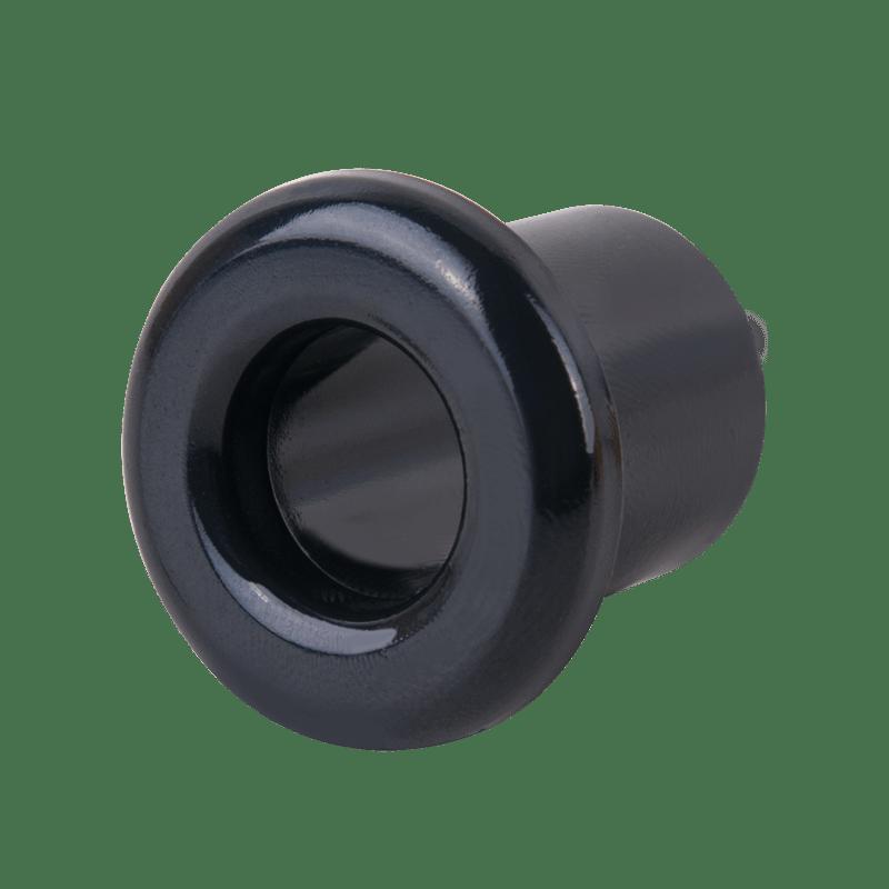 WL18-18-01/ Втулка для вывода кабеля из стены 2 шт.(черный) Ретро