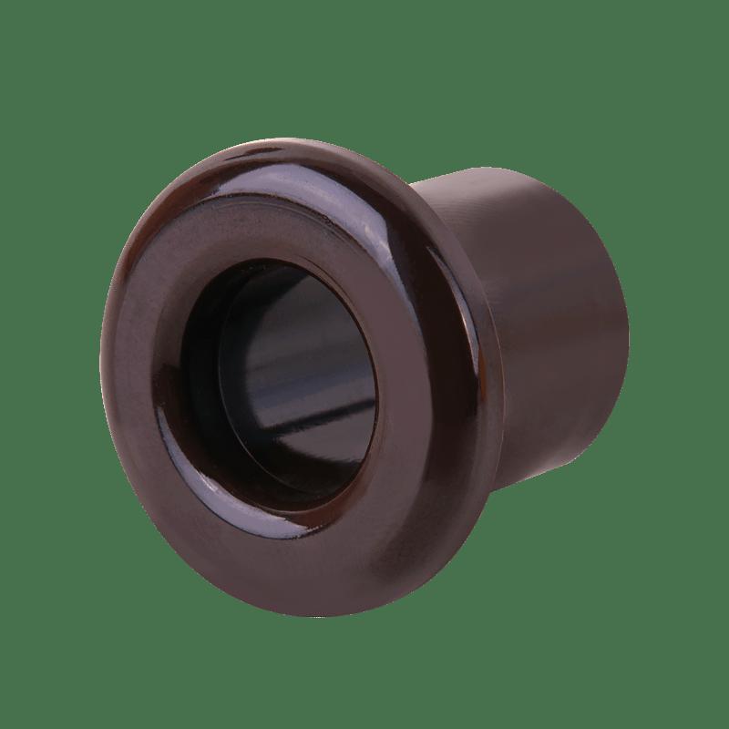 WL18-18-01/ Втулка для вывода кабеля из стены 2 шт. (коричневый) Ретро