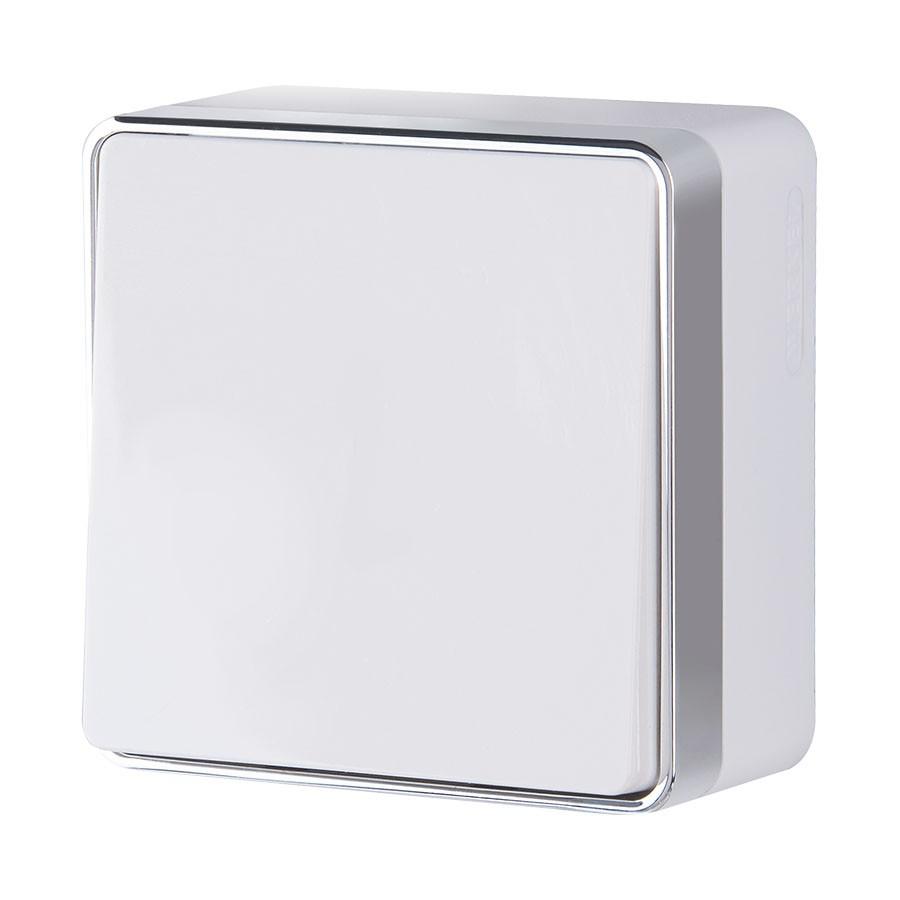 WL15-01-03/ Выключатель одноклавишный проходной Gallant (белый)