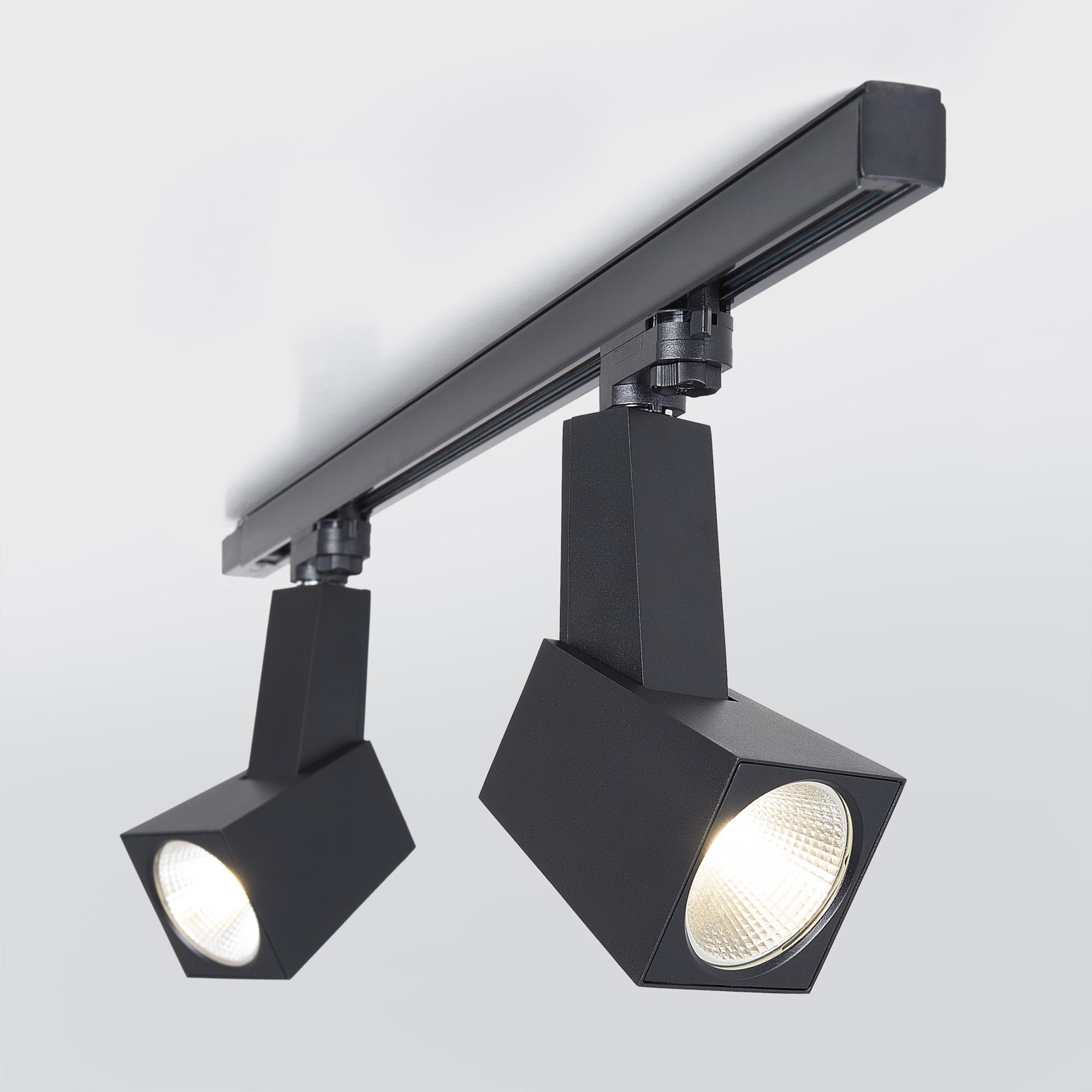 Трековый светильник трехфазный